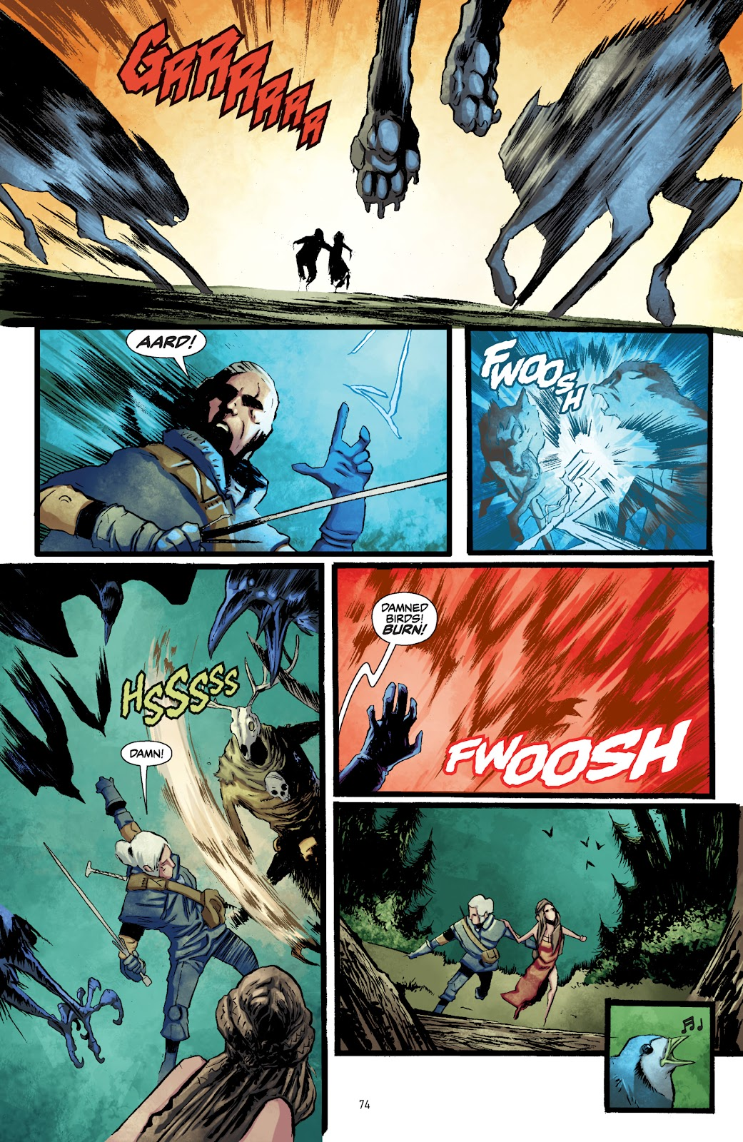 Read online The Witcher Omnibus comic -  Issue # TPB (Part 1) - 73