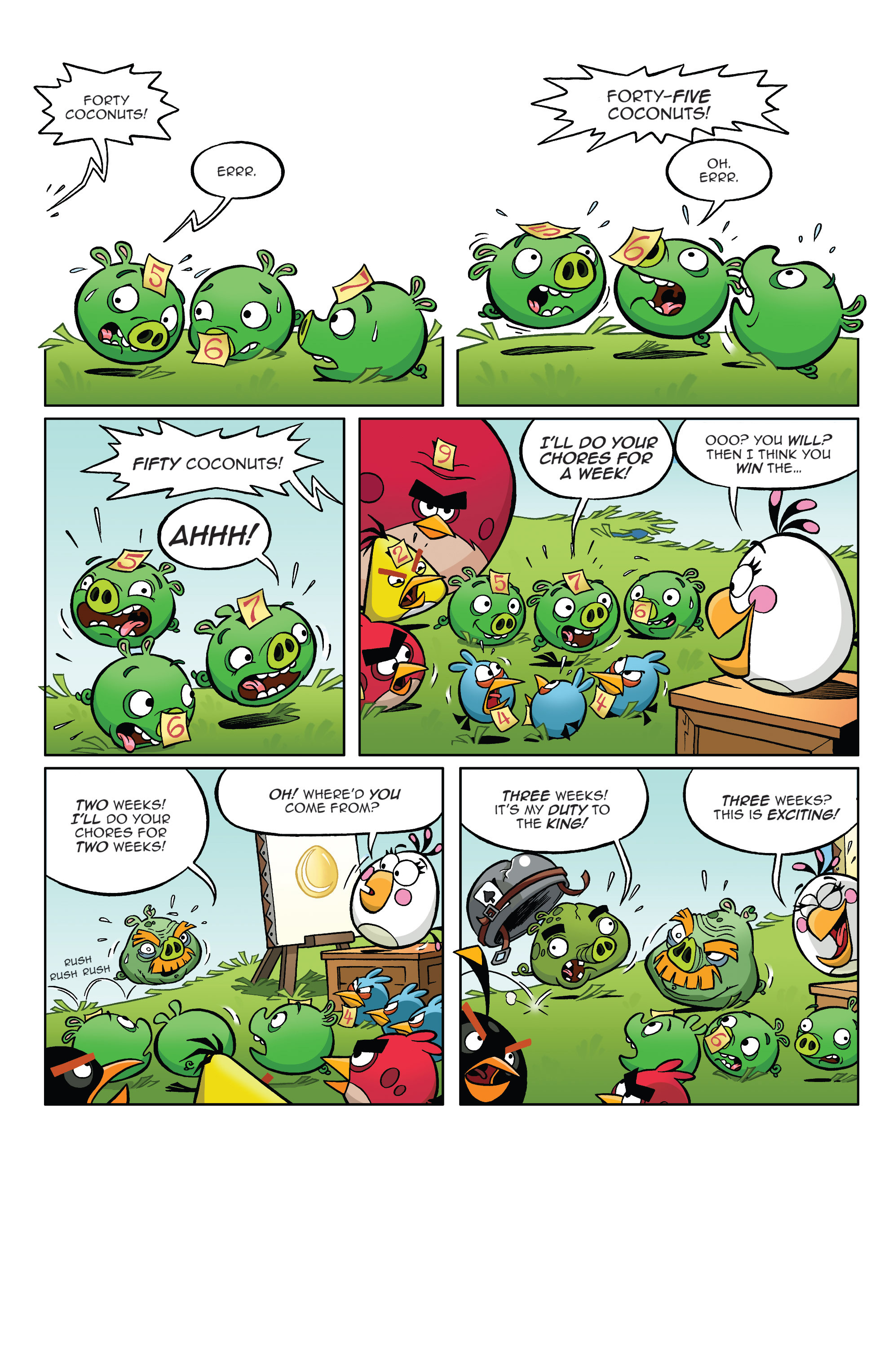 Read online Angry Birds Comics (2014) comic -  Issue #4 - 18