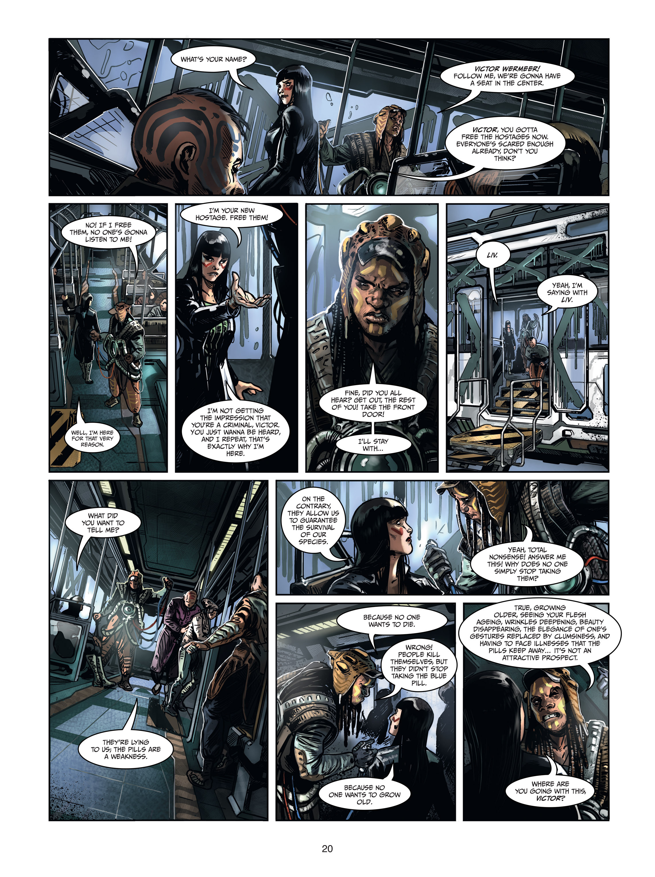 Read online Androïds comic -  Issue #1 - 18