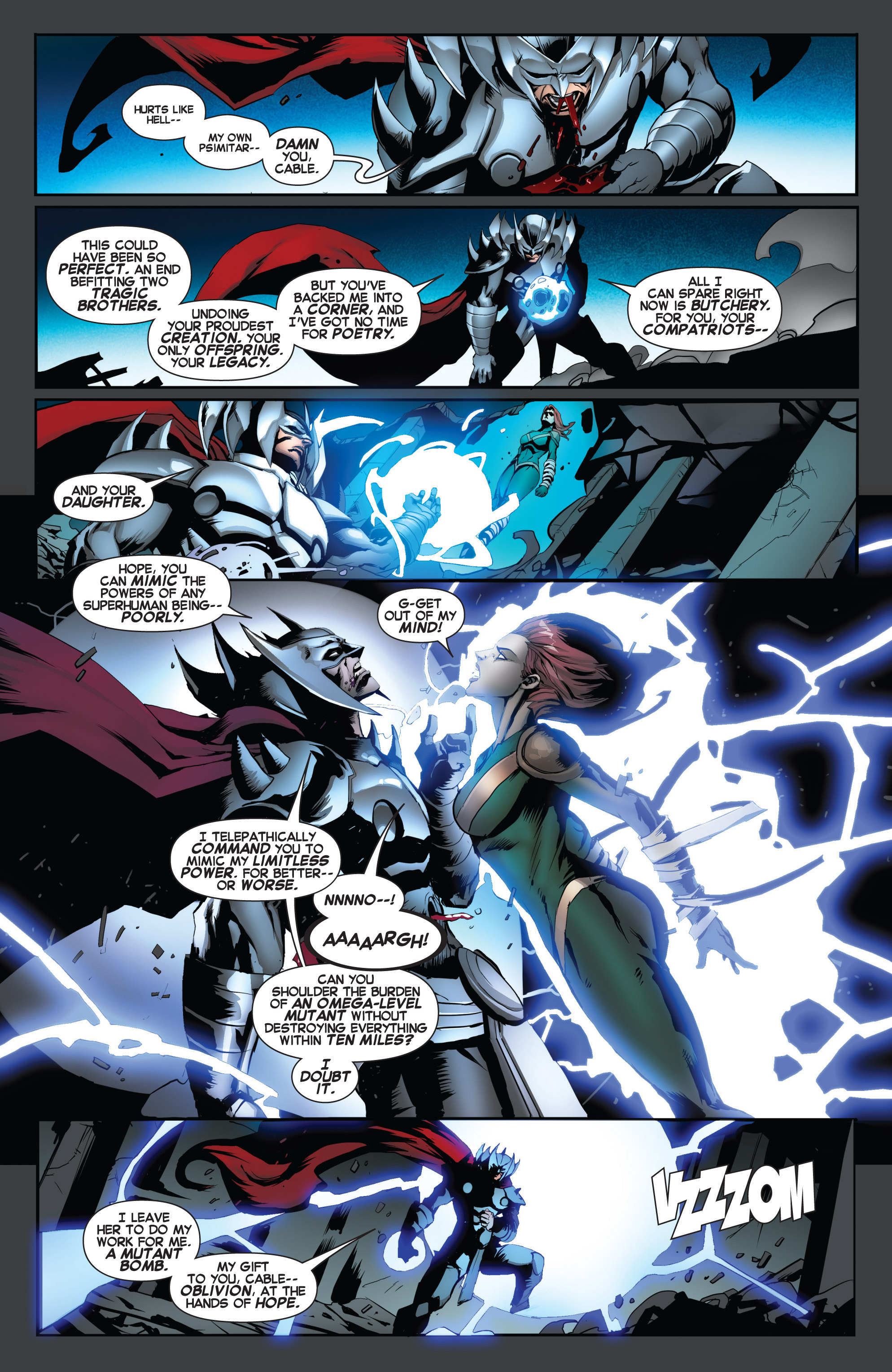 Read online Uncanny X-Force (2013) comic -  Issue #17 - 15