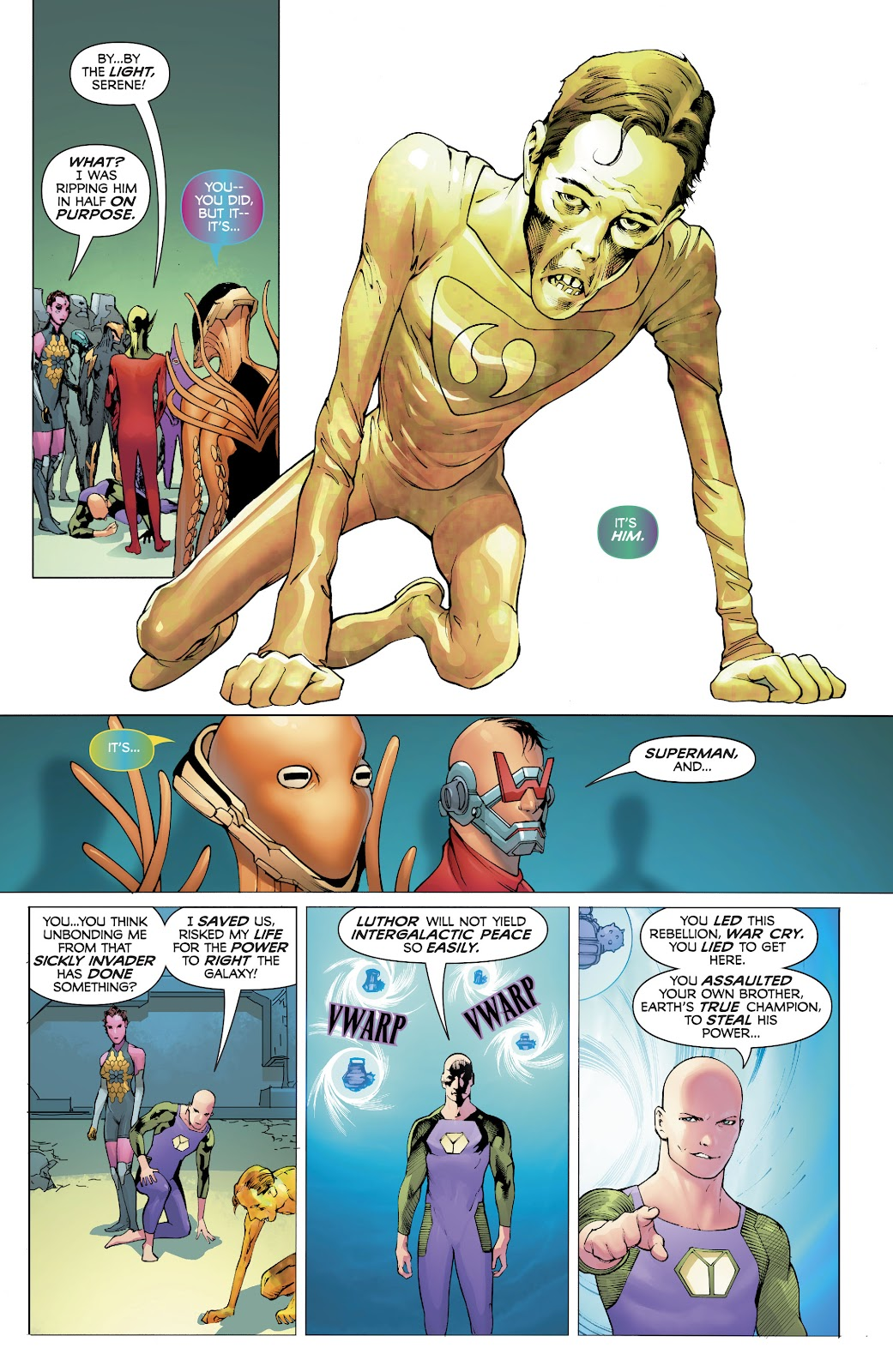 Read online Electric Warriors comic -  Issue #5 - 21