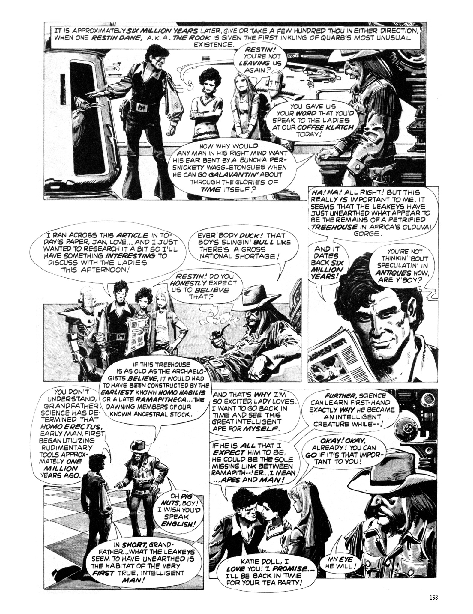 Read online Eerie Archives comic -  Issue # TPB 20 - 163