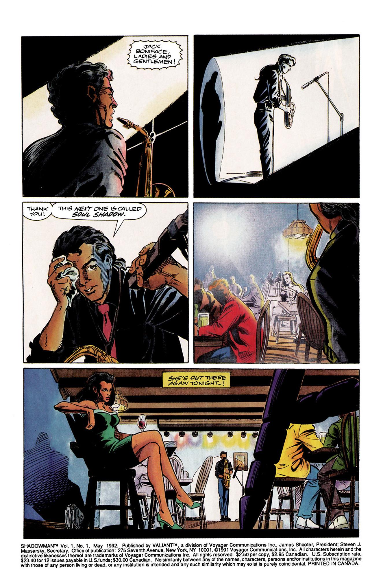 Read online Shadowman (1992) comic -  Issue #1 - 3