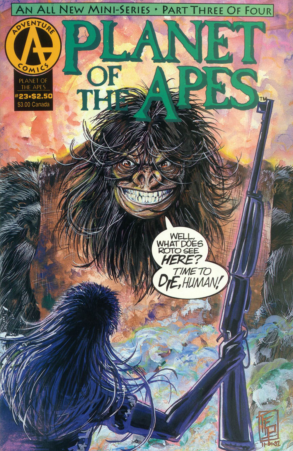 Planet of the Apes (1990) 23 Page 1