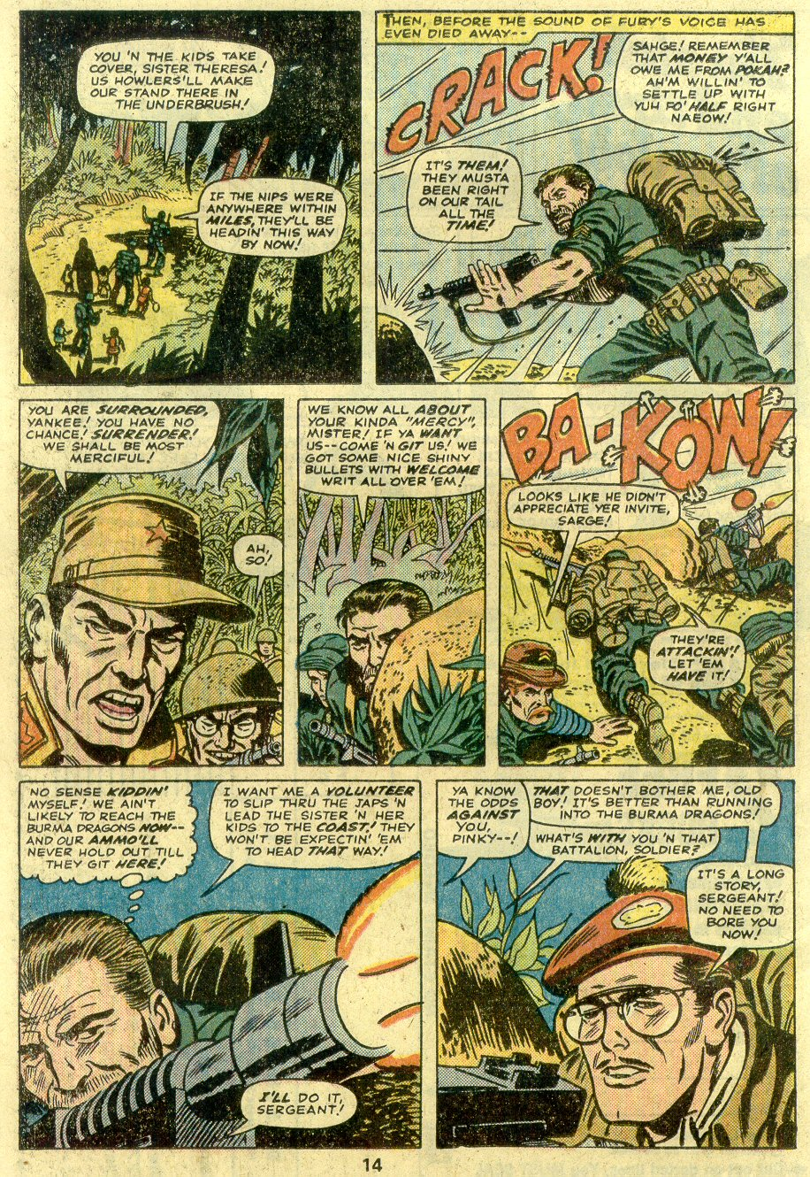 Read online Sgt. Fury comic -  Issue #125 - 16