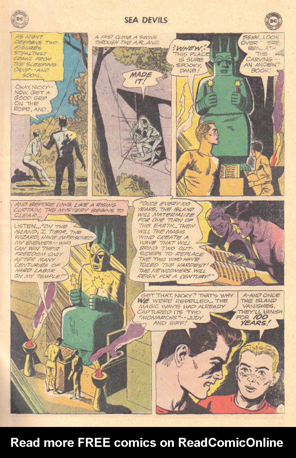 Read online Sea Devils comic -  Issue #16 - 9
