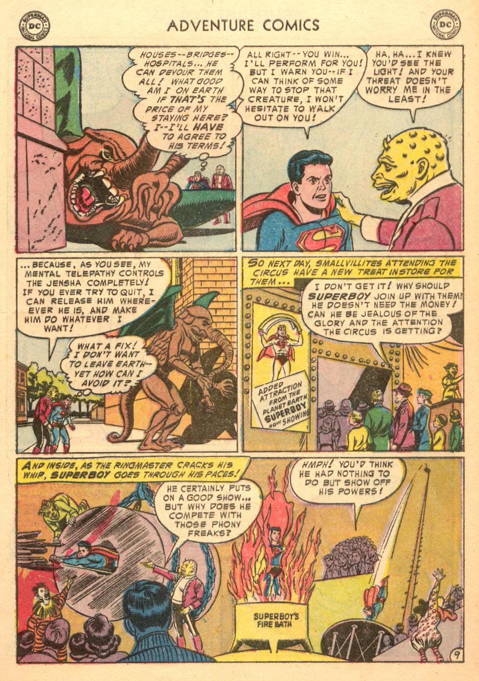 Read online Adventure Comics (1938) comic -  Issue #198 - 11