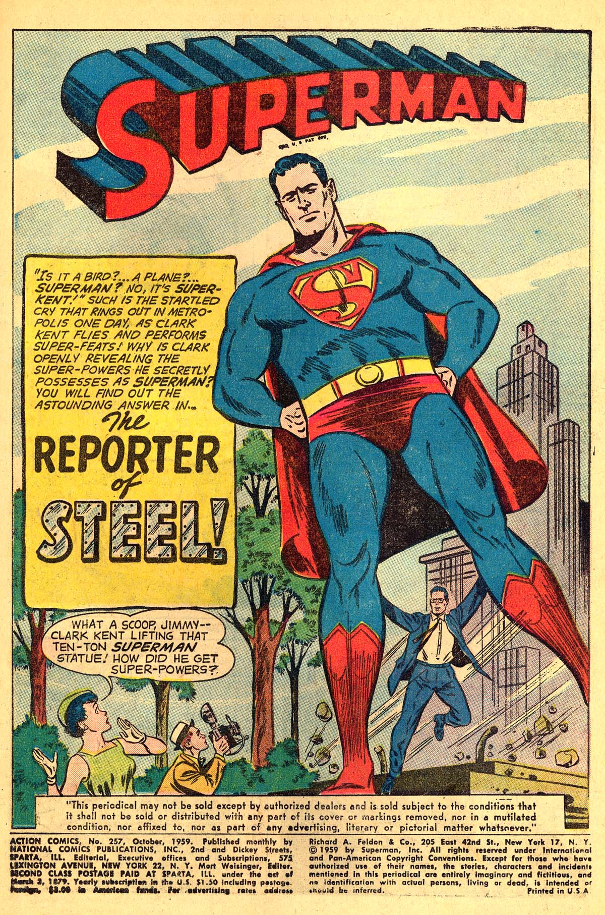 Read online Action Comics (1938) comic -  Issue #257 - 3