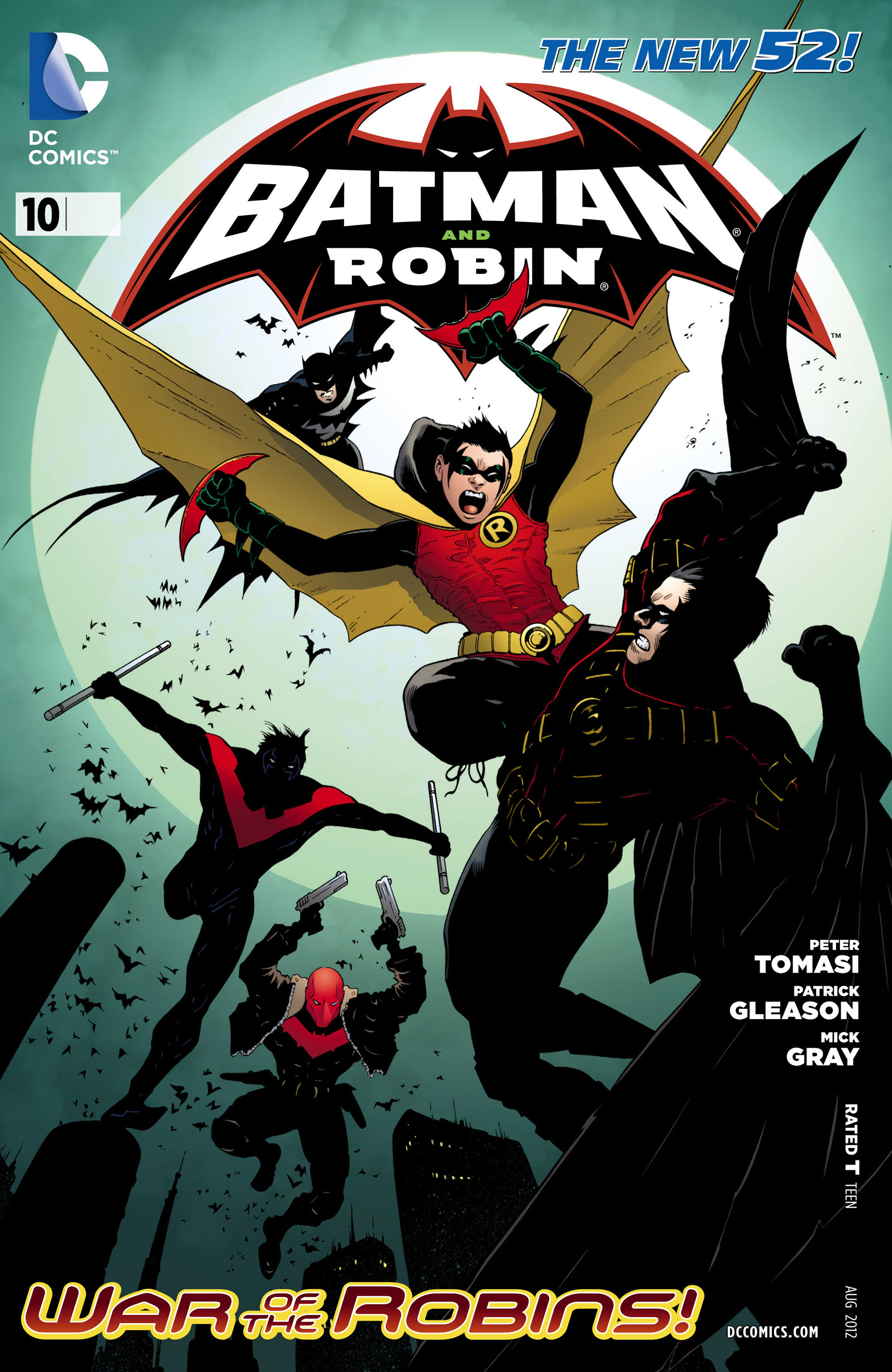 Read online Batman and Robin (2011) comic -  Issue #10 - 1