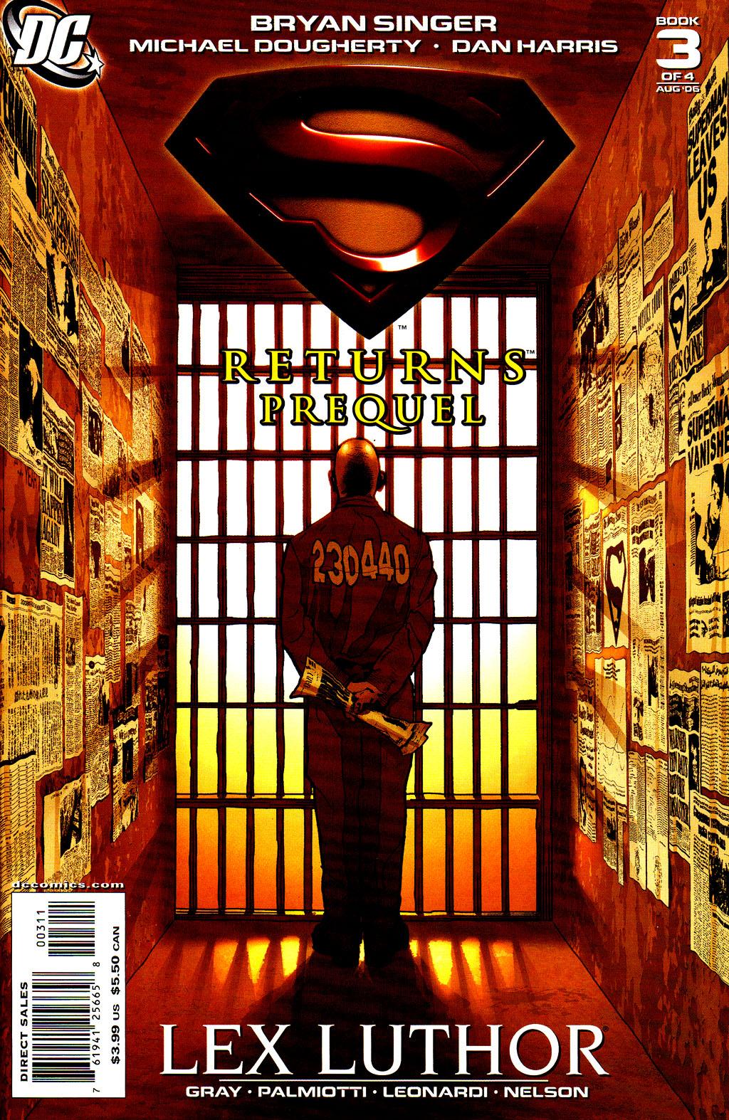 Superman Returns Prequel #3 - Read Superman Returns Prequel