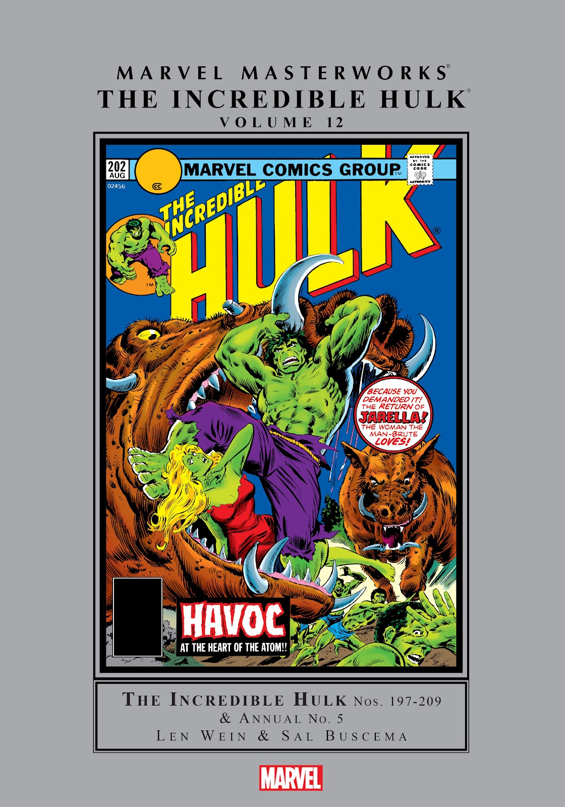 Read online Marvel Masterworks: The Incredible Hulk comic -  Issue # TPB 12 (Part 1) - 1