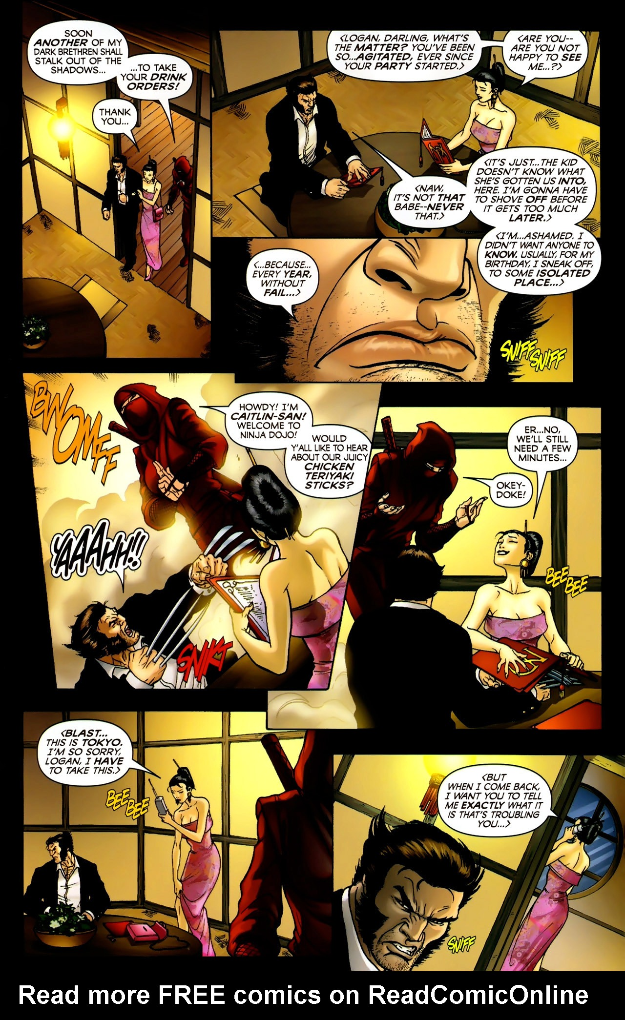 Read online Wolverine: First Class comic -  Issue #2 - 10