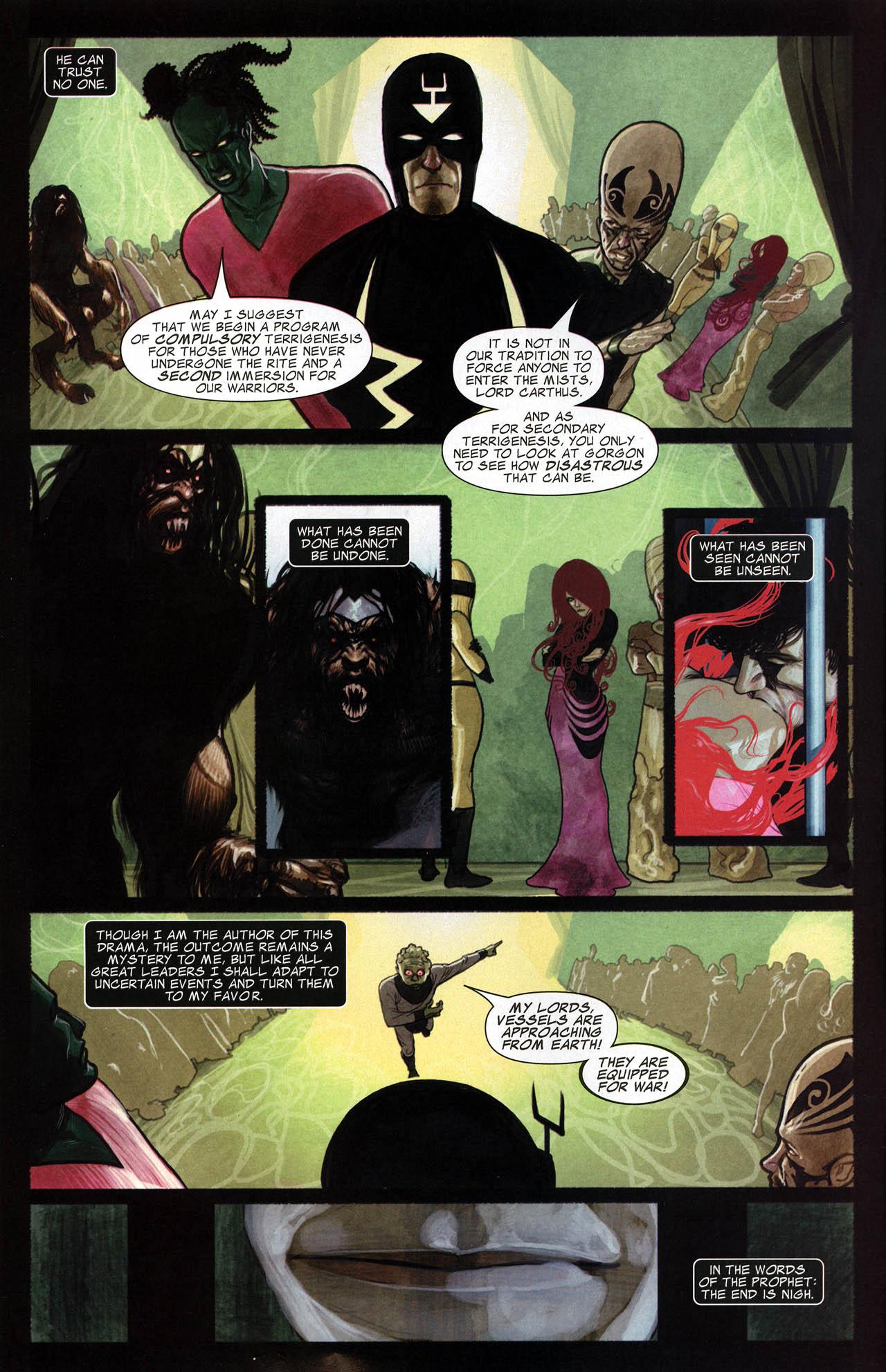 Read online Silent War comic -  Issue #6 - 4