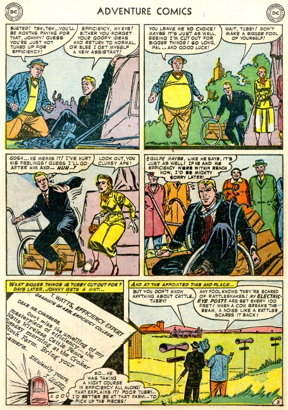Read online Adventure Comics (1938) comic -  Issue #174 - 27