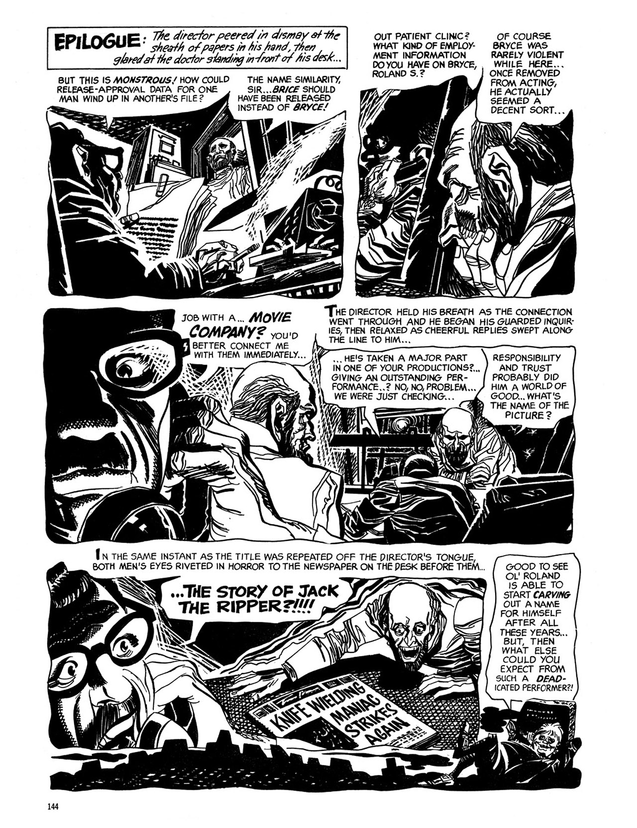 Read online Eerie Archives comic -  Issue # TPB 2 - 145