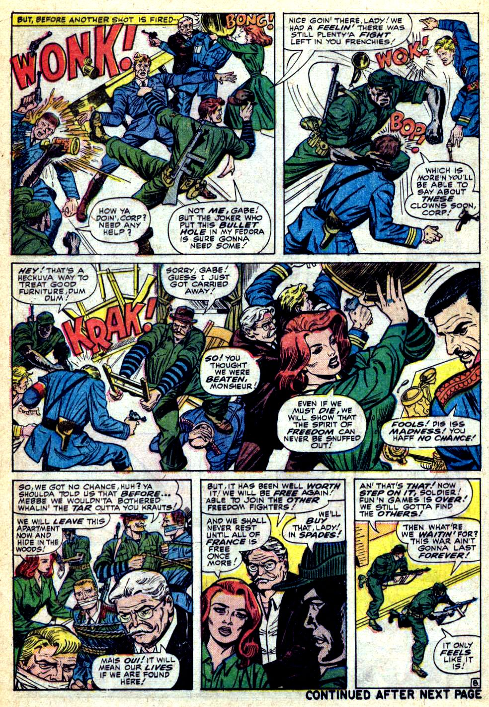Read online Sgt. Fury comic -  Issue #28 - 12