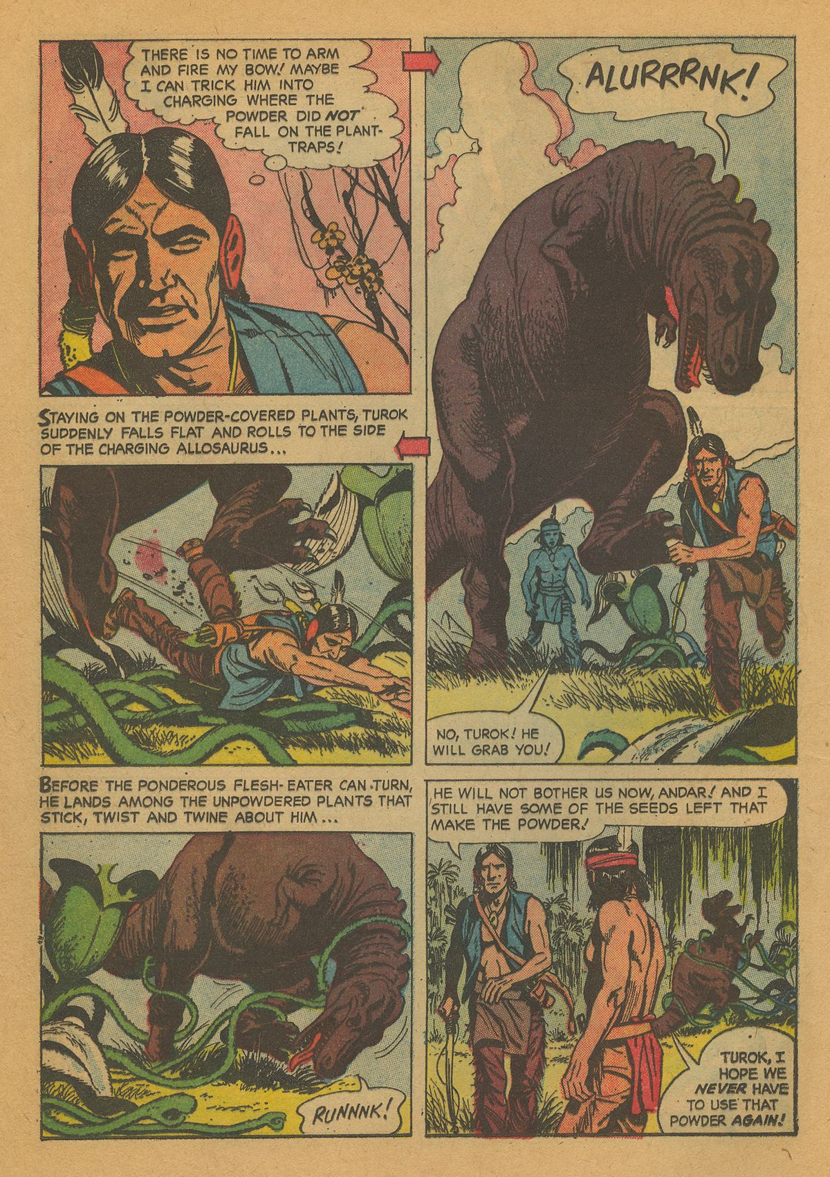 Read online Turok, Son of Stone comic -  Issue #26 - 16