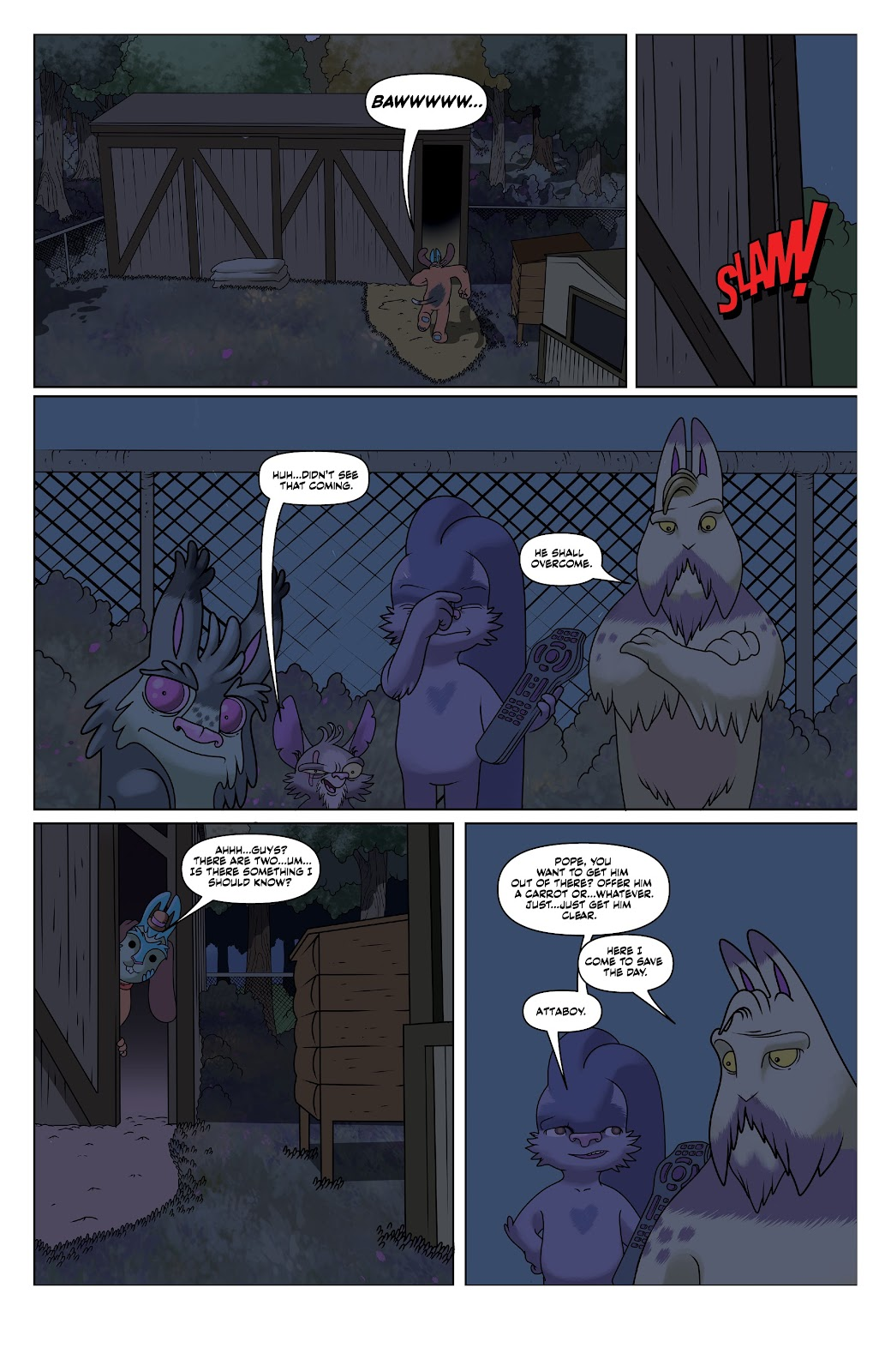 Read online Auntie Agatha's Home For Wayward Rabbits comic -  Issue #6 - 11