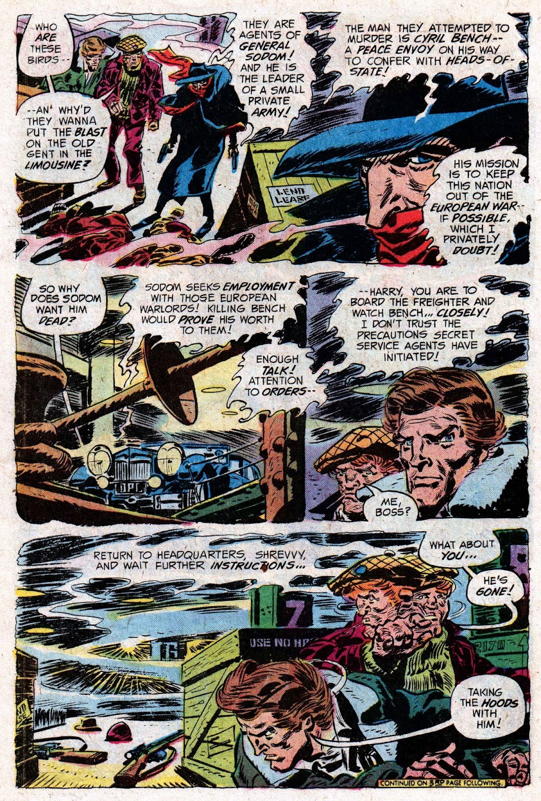 The Shadow (1973) issue 5 - Page 6