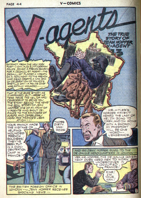 Read online V...- Comics comic -  Issue #1 - 45