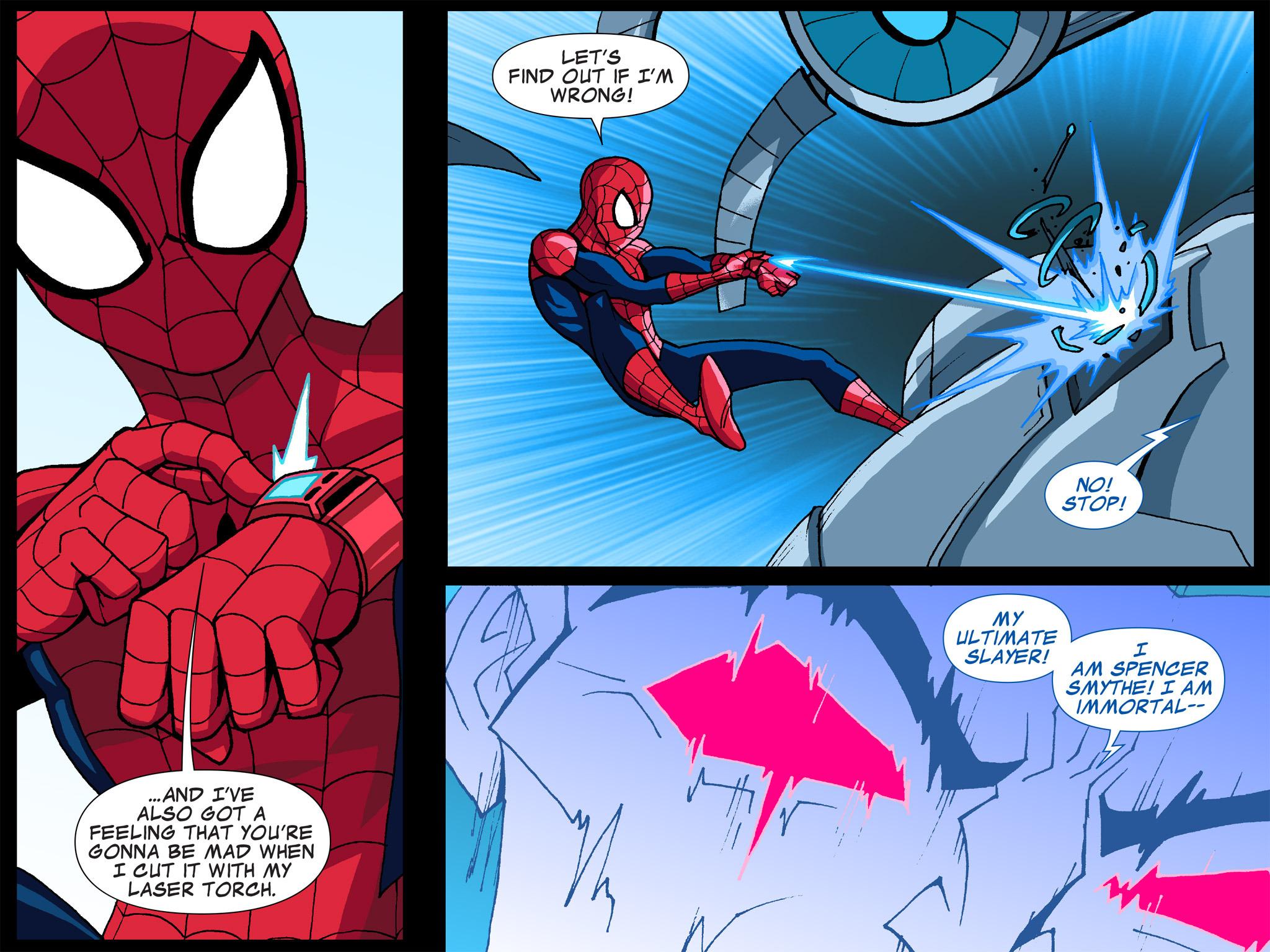 Read online Ultimate Spider-Man (Infinite Comics) (2015) comic -  Issue #6 - 34