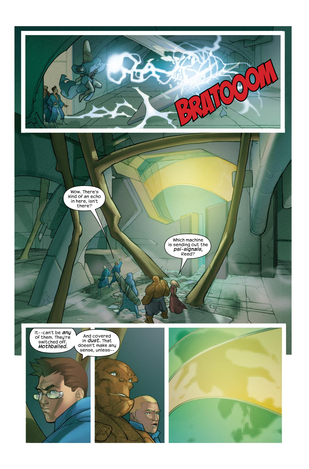 Read online Ultimate Fantastic Four (2004) comic -  Issue #46 - 7