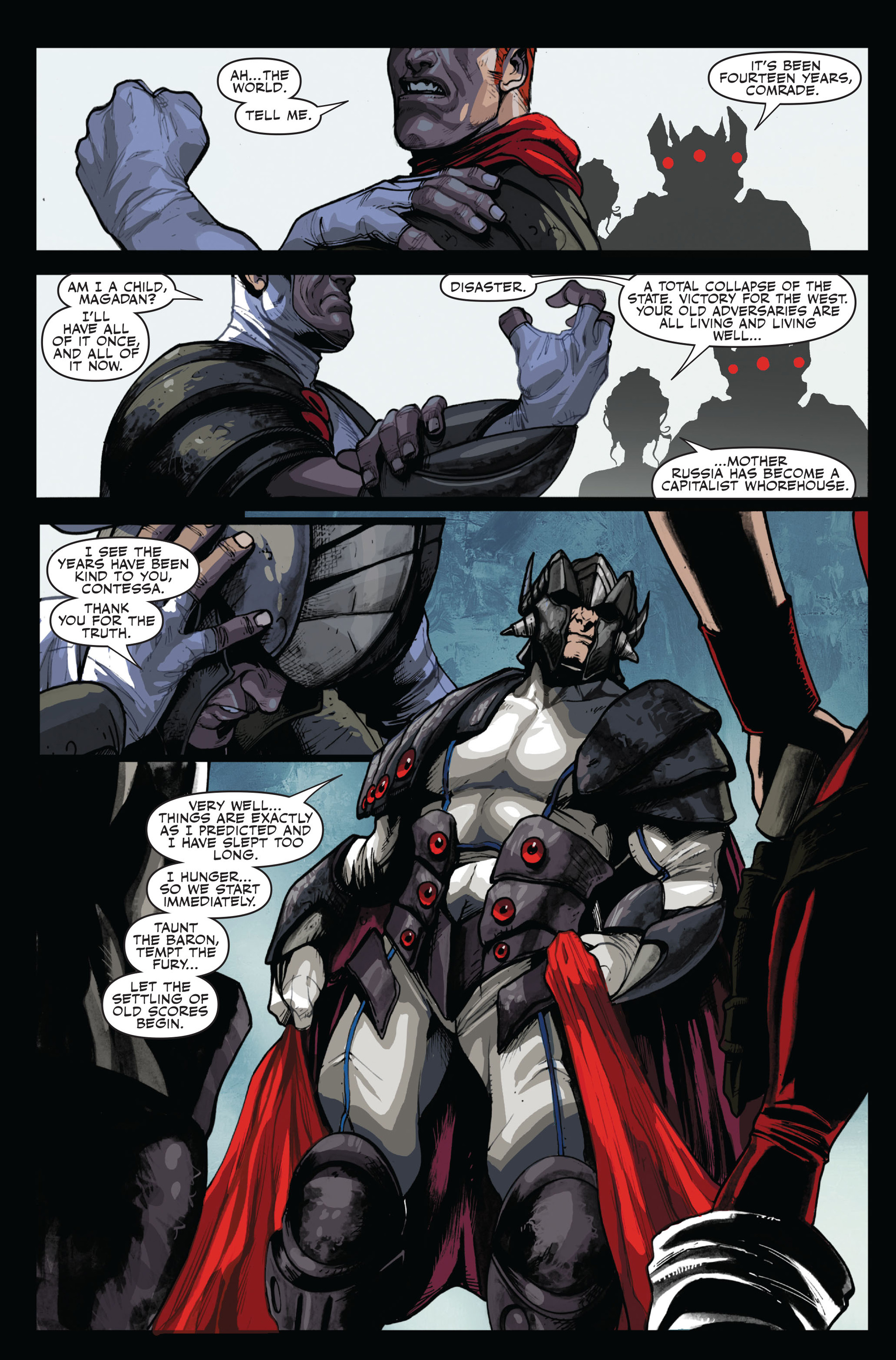 Read online Secret Warriors comic -  Issue #14 - 24