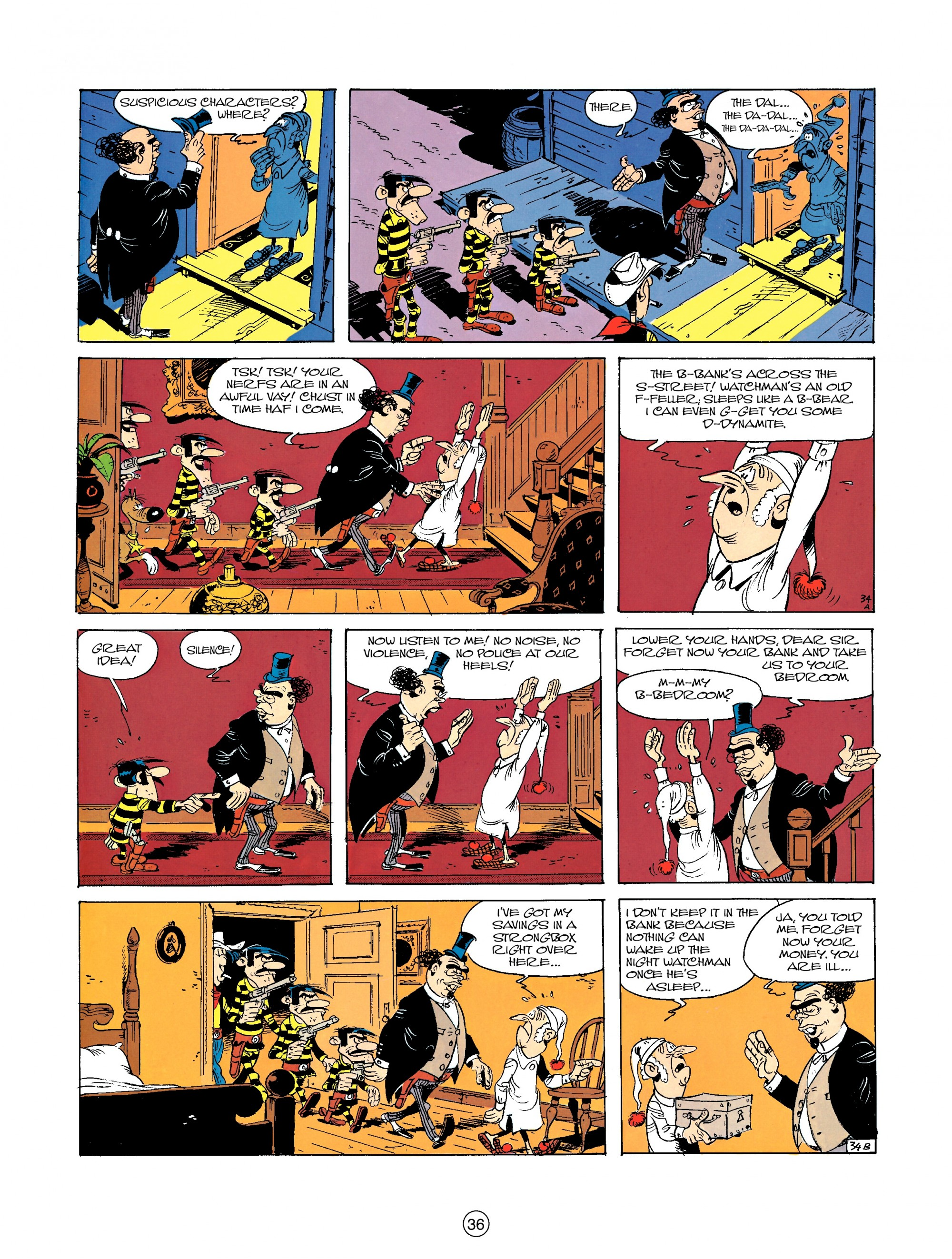 Read online A Lucky Luke Adventure comic -  Issue #23 - 36