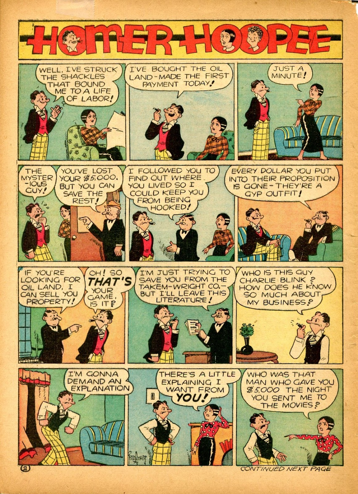 Read online Famous Funnies comic -  Issue #84 - 62