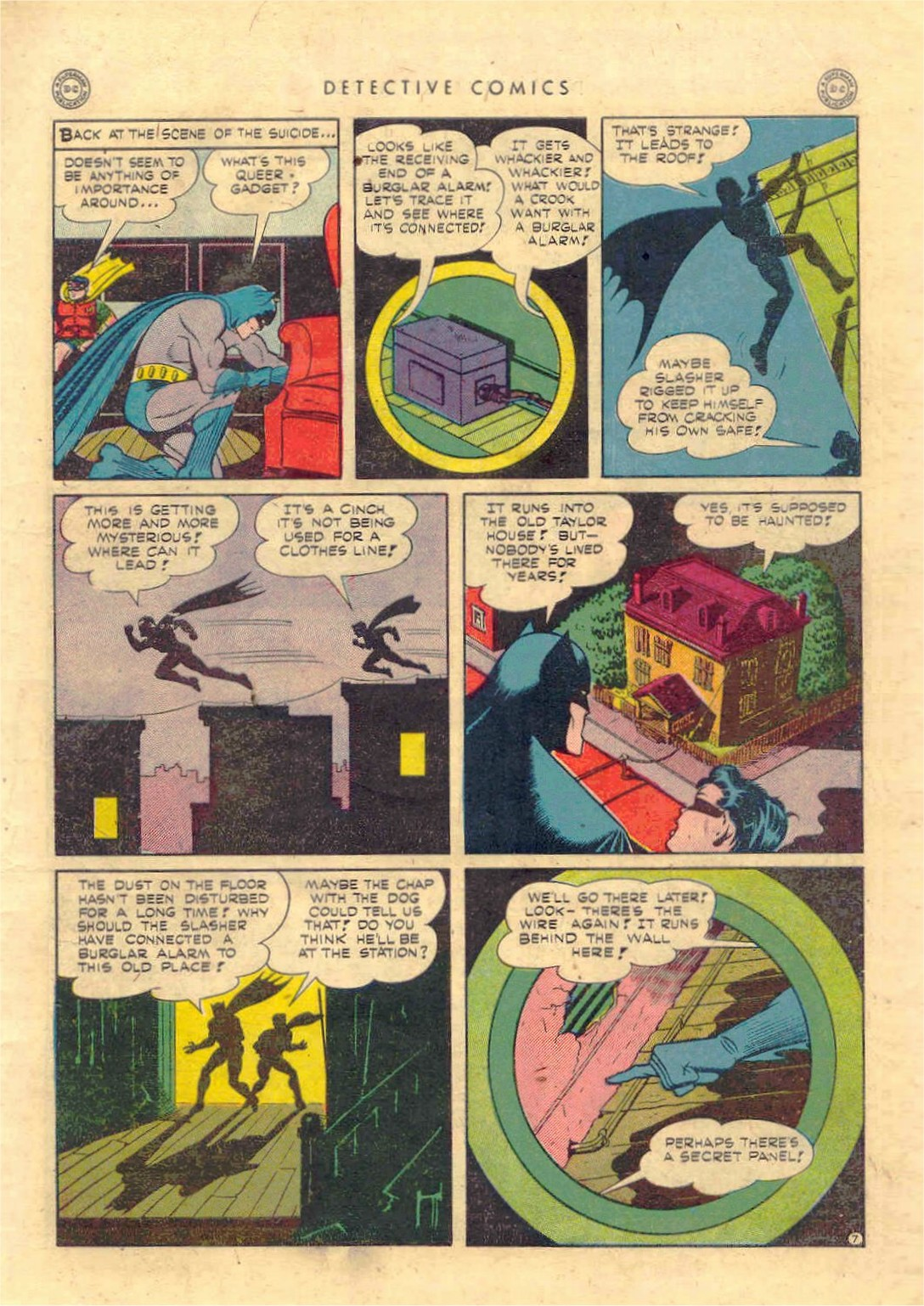 Read online Detective Comics (1937) comic -  Issue #97 - 9