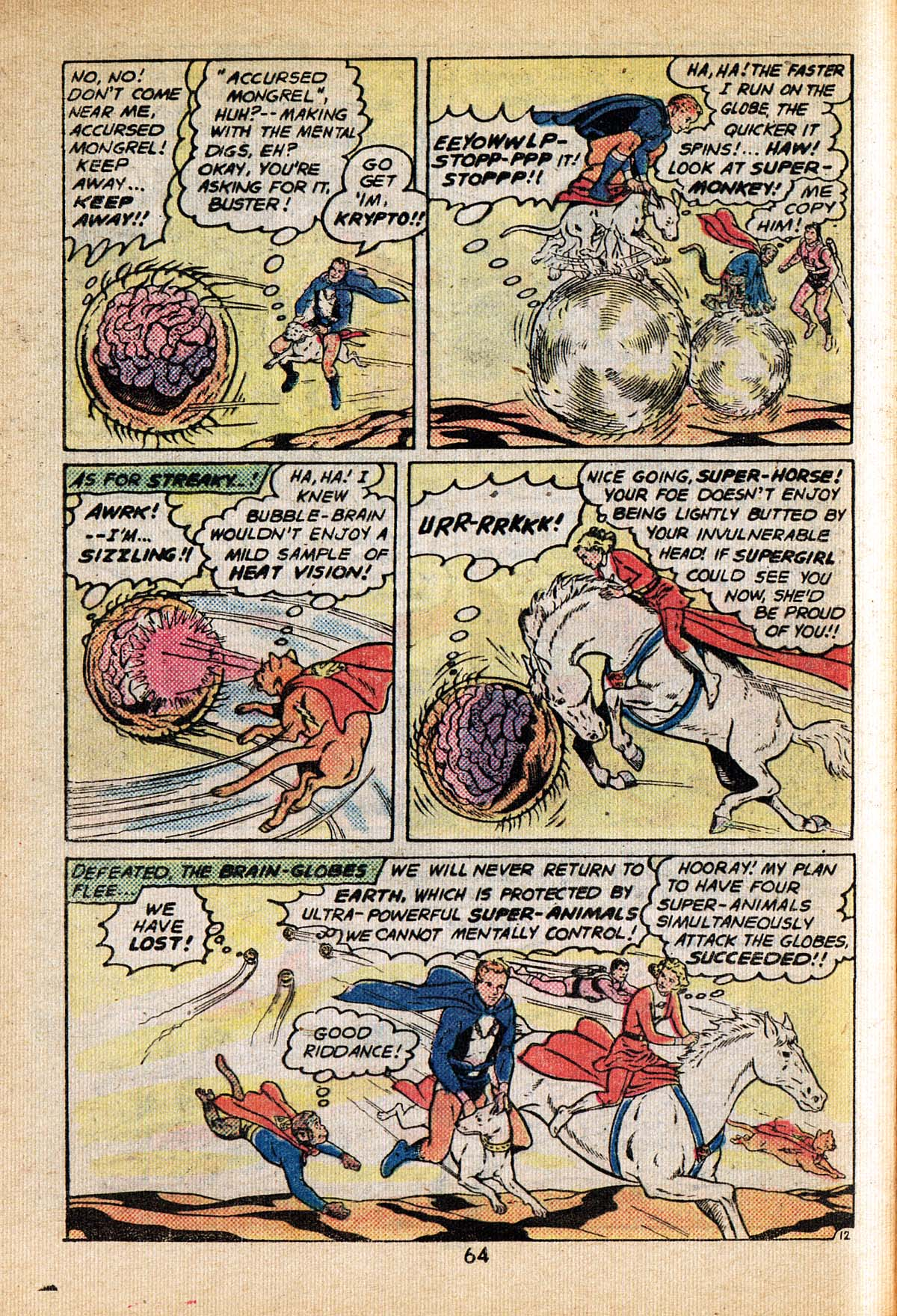 Read online Adventure Comics (1938) comic -  Issue #495 - 64