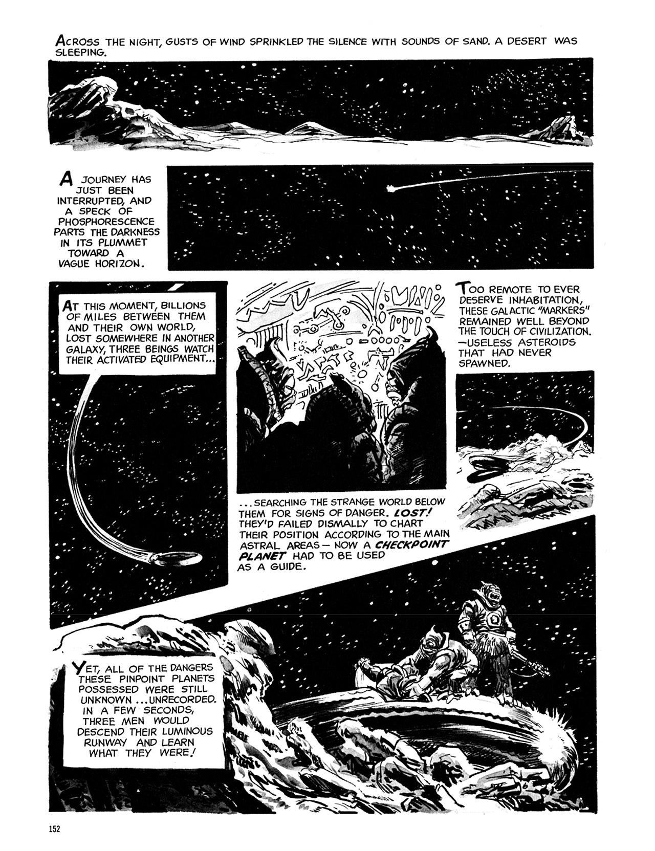 Read online Eerie Archives comic -  Issue # TPB 5 - 153