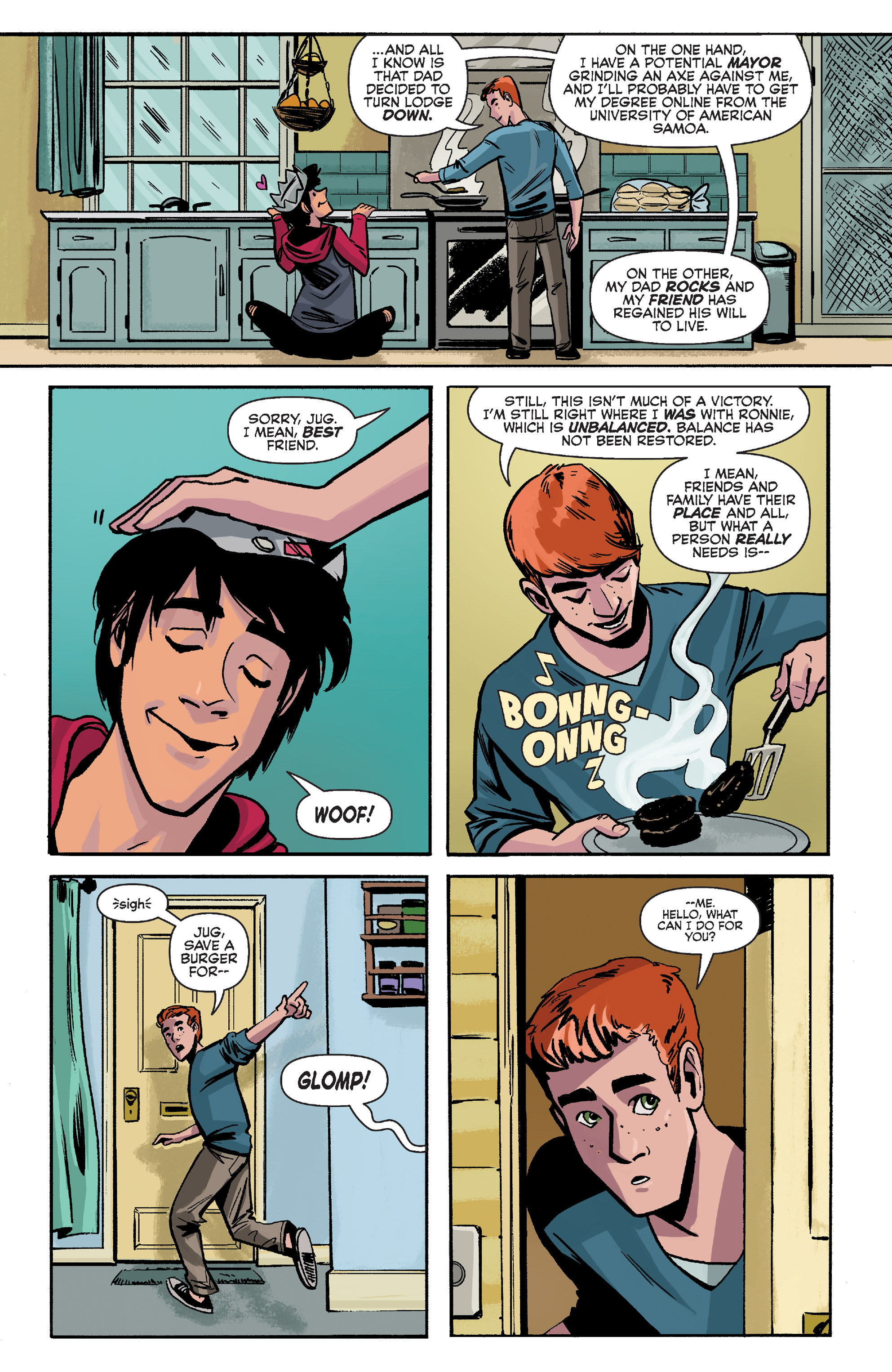 Read online Archie (2015) comic -  Issue #8 - 23