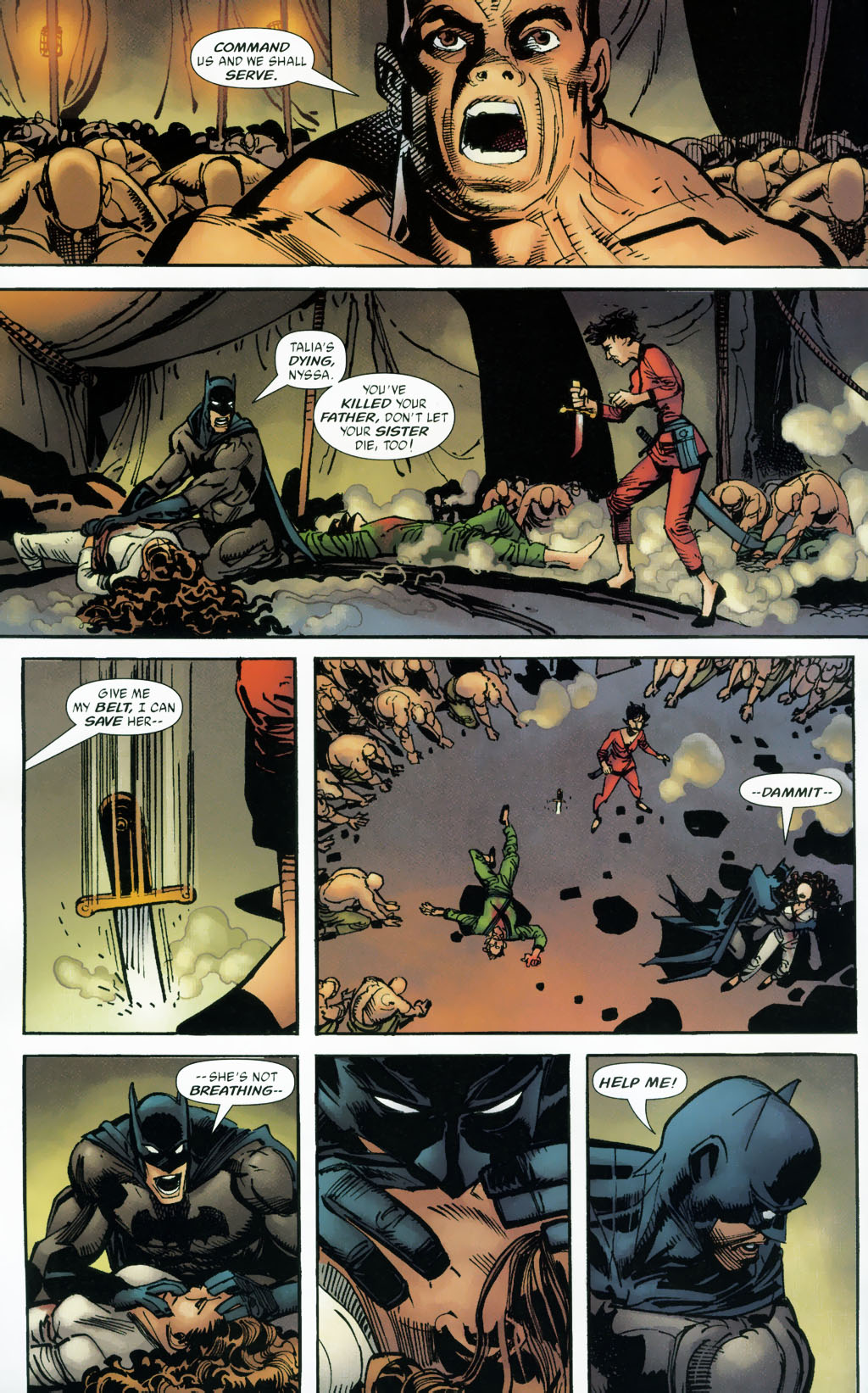 Read online Batman: Death and the Maidens comic -  Issue #9 - 6
