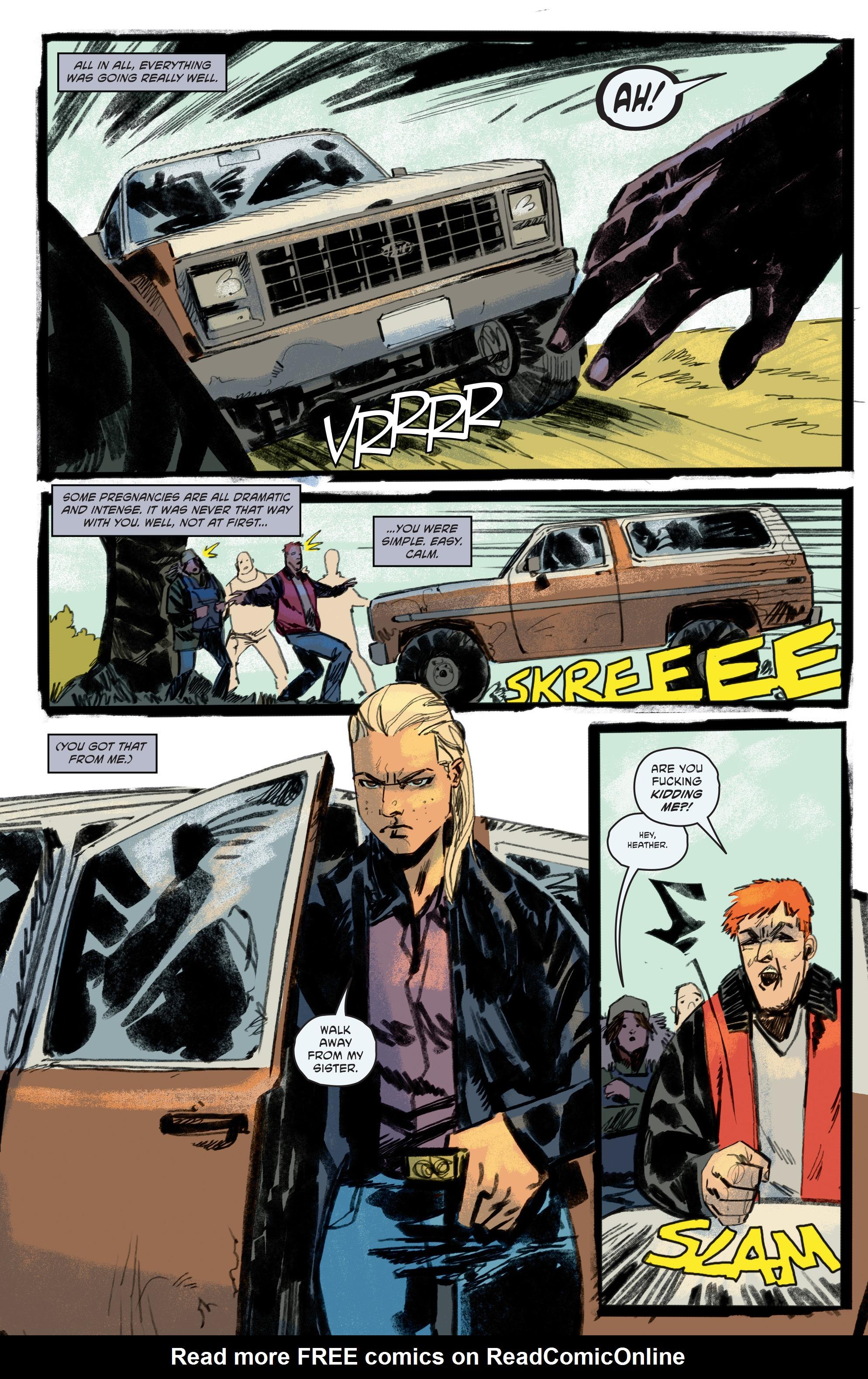 Read online Pestilence comic -  Issue #1 - 28