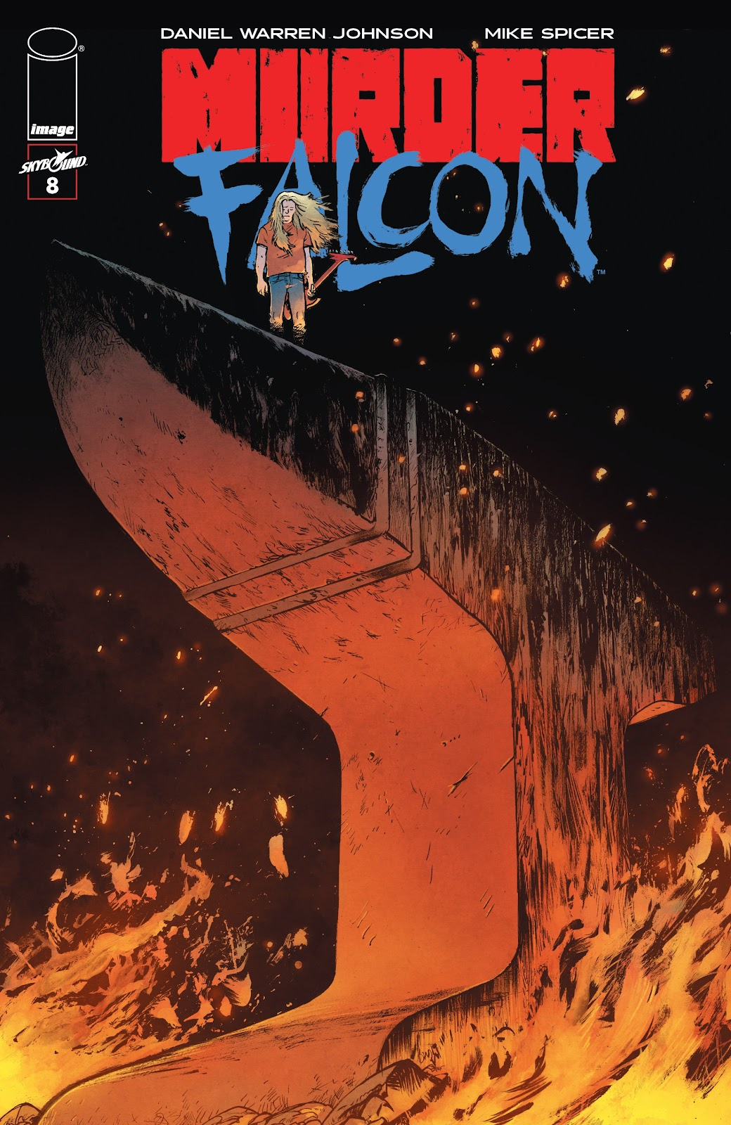 Read online Murder Falcon comic -  Issue #8 - 1