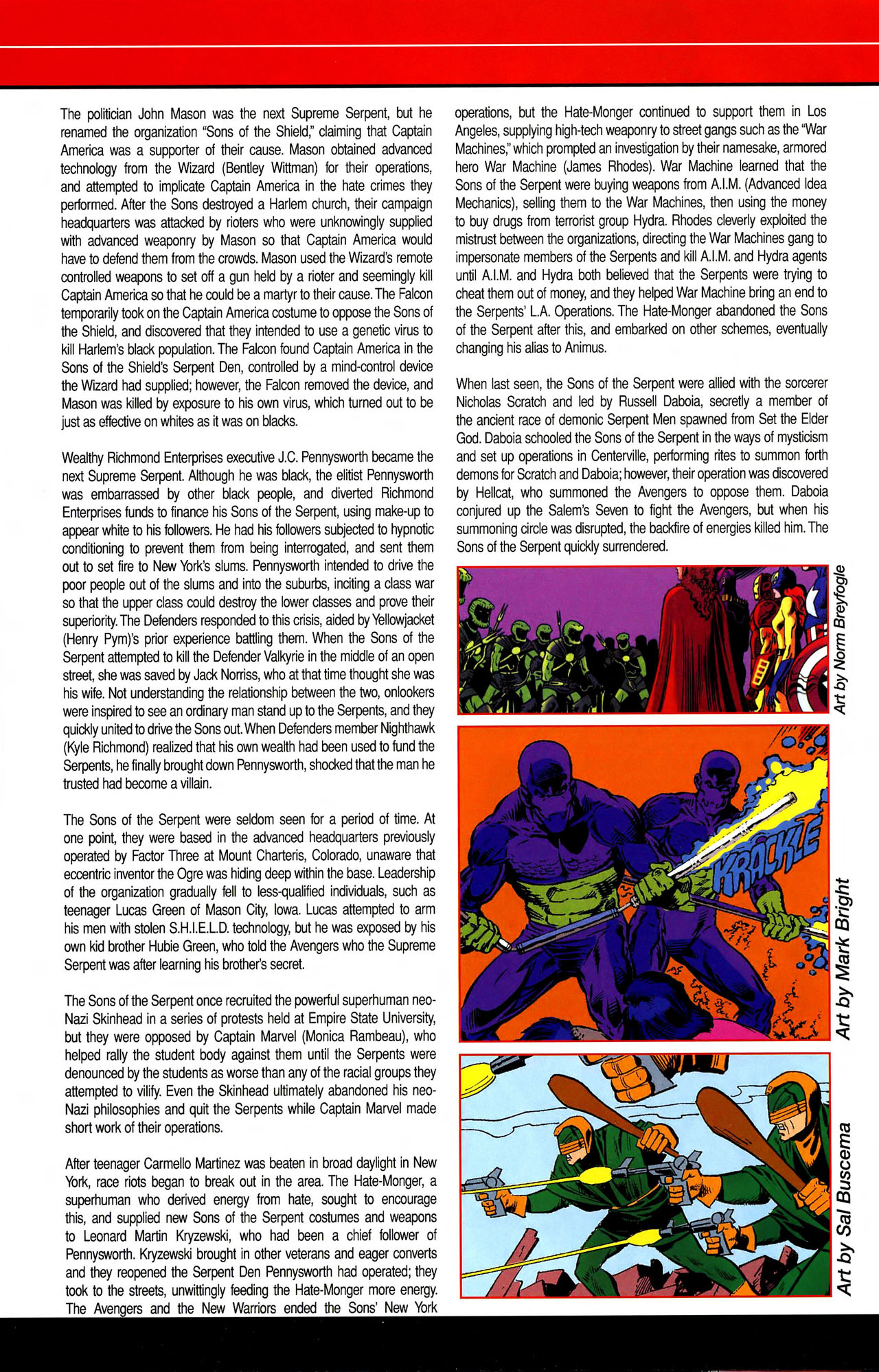 Read online All-New Official Handbook of the Marvel Universe A to Z comic -  Issue #10 - 30