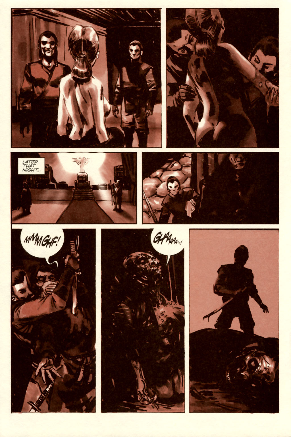 Read online Sea of Red comic -  Issue #5 - 6