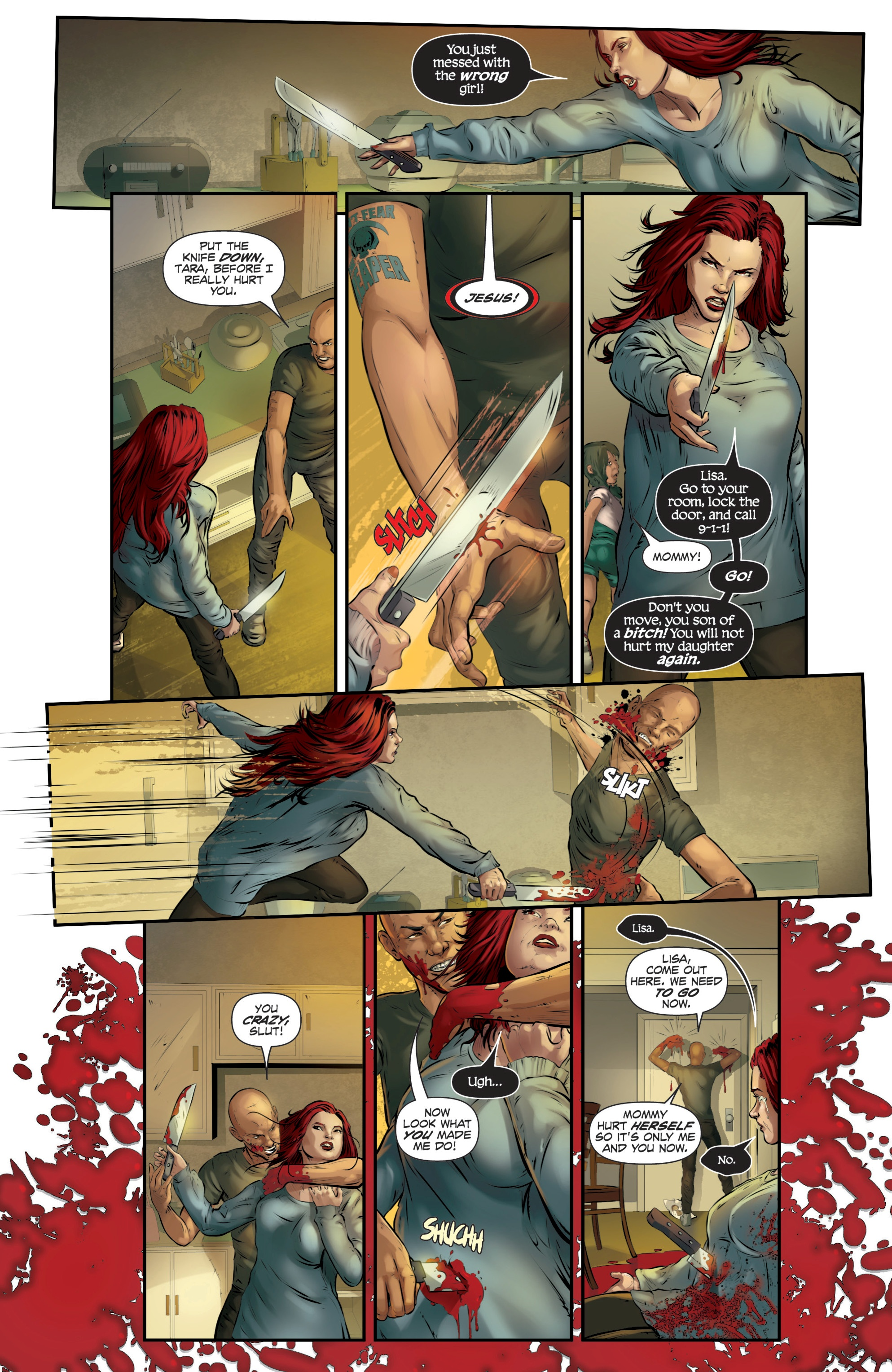 Read online Grimm Fairy Tales presents Death comic -  Issue # Full - 34