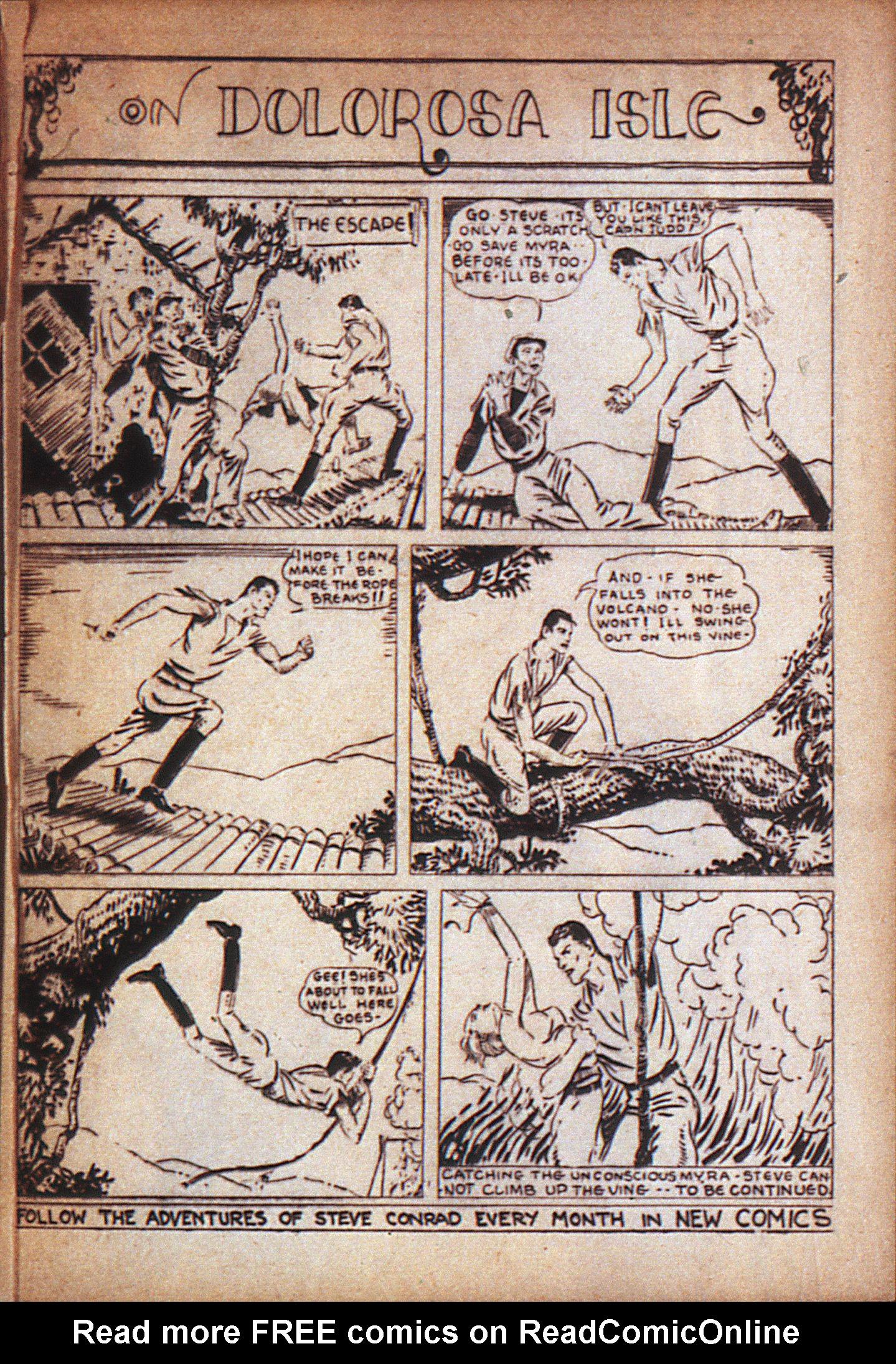 Read online Adventure Comics (1938) comic -  Issue #7 - 41