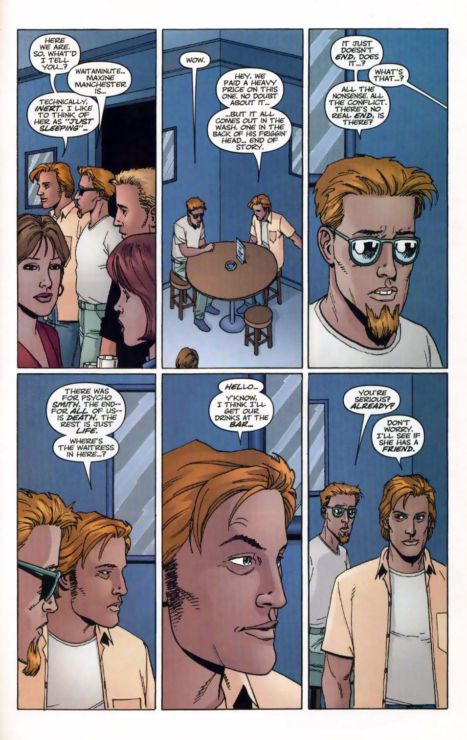 Wildcats (1999) Issue #20 #21 - English 23