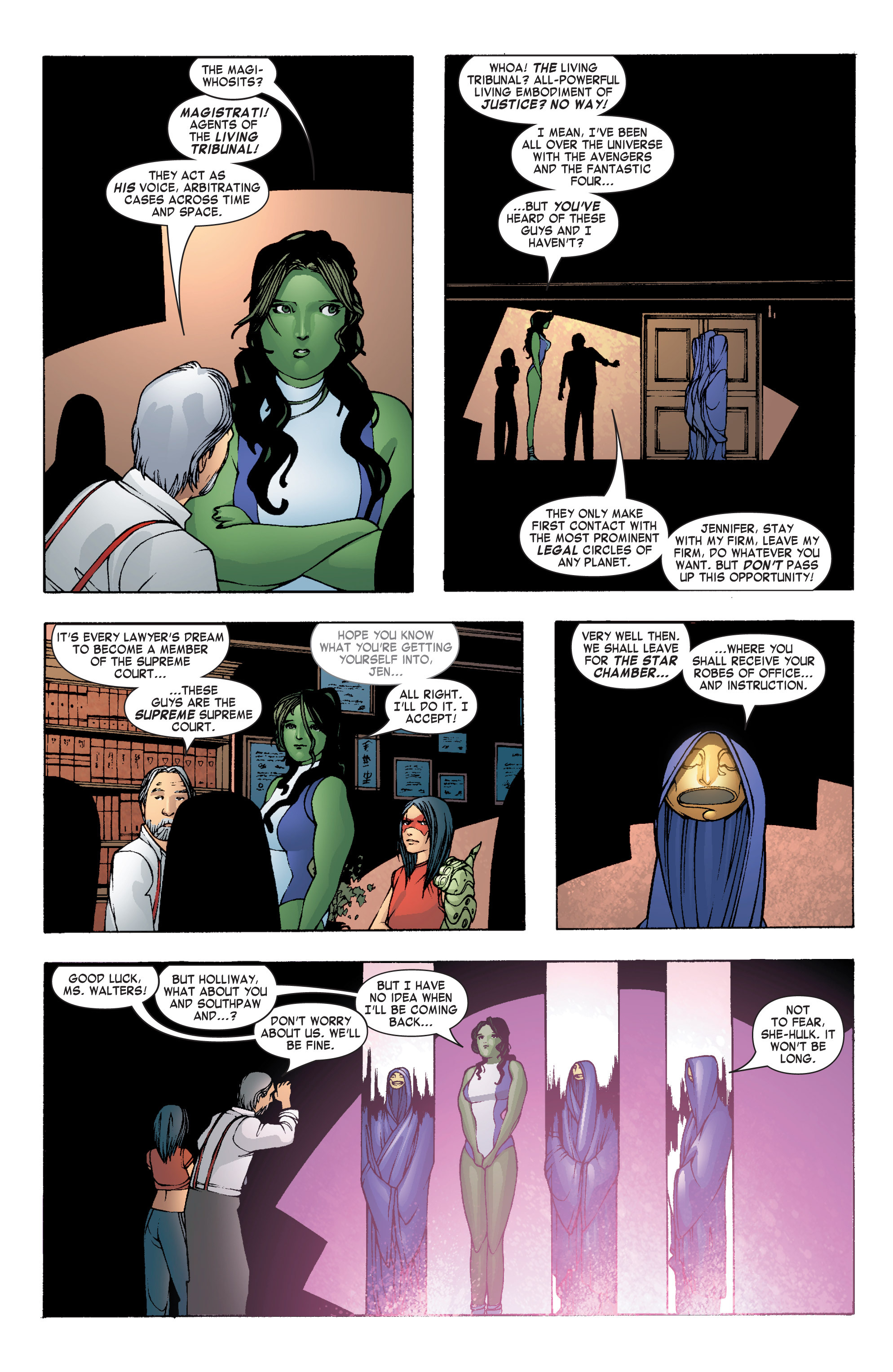 Read online She-Hulk (2004) comic -  Issue #7 - 11
