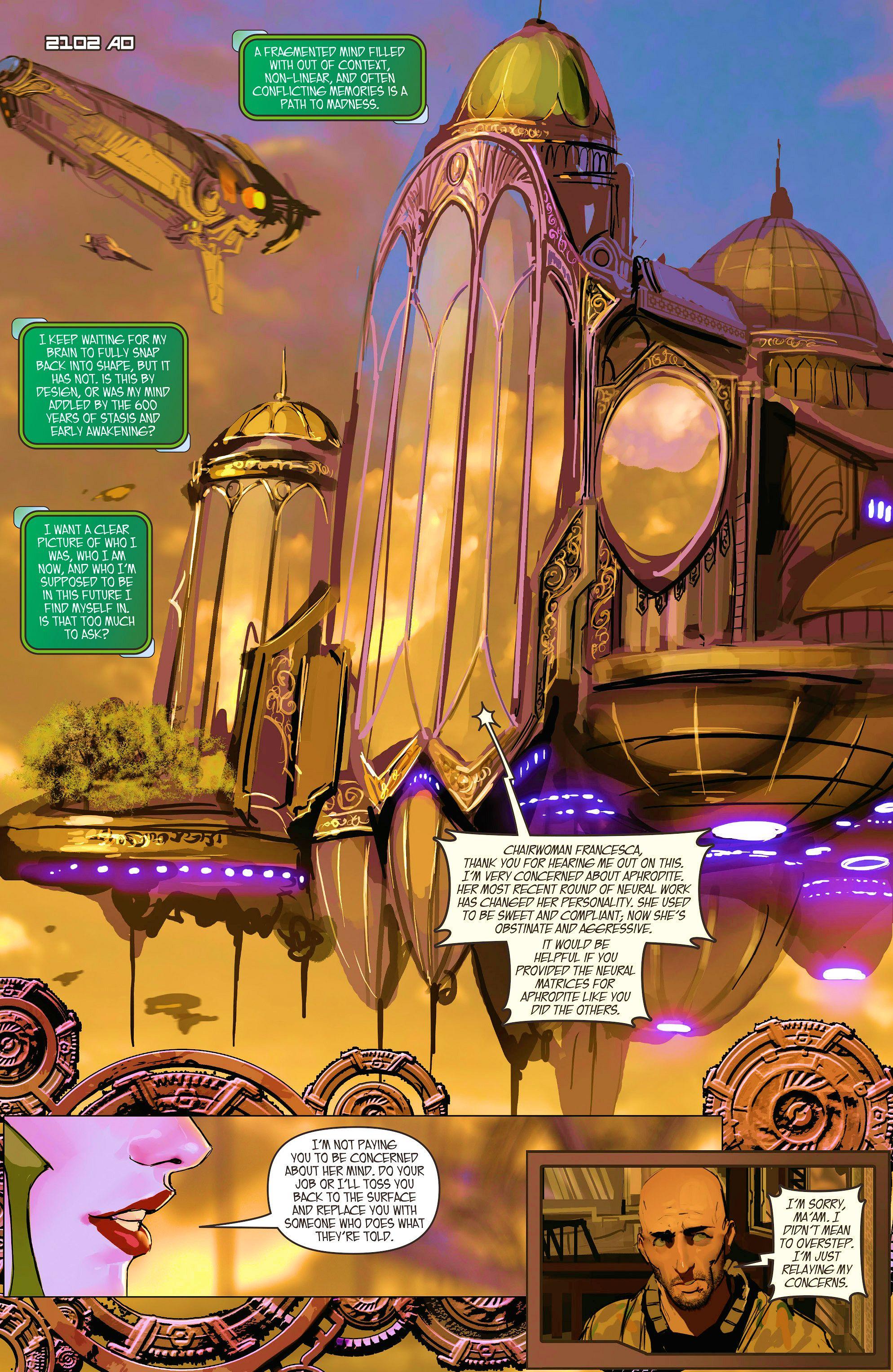 Read online Aphrodite IX (2013) comic -  Issue #10 - 4