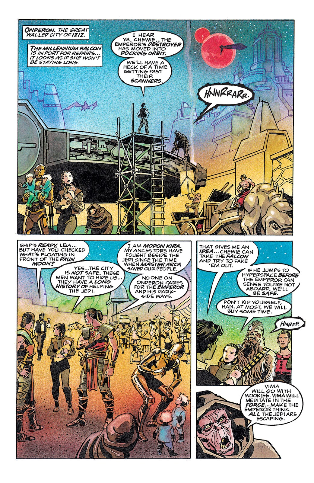 Read online Star Wars: Dark Empire Trilogy comic -  Issue # TPB (Part 4) - 40