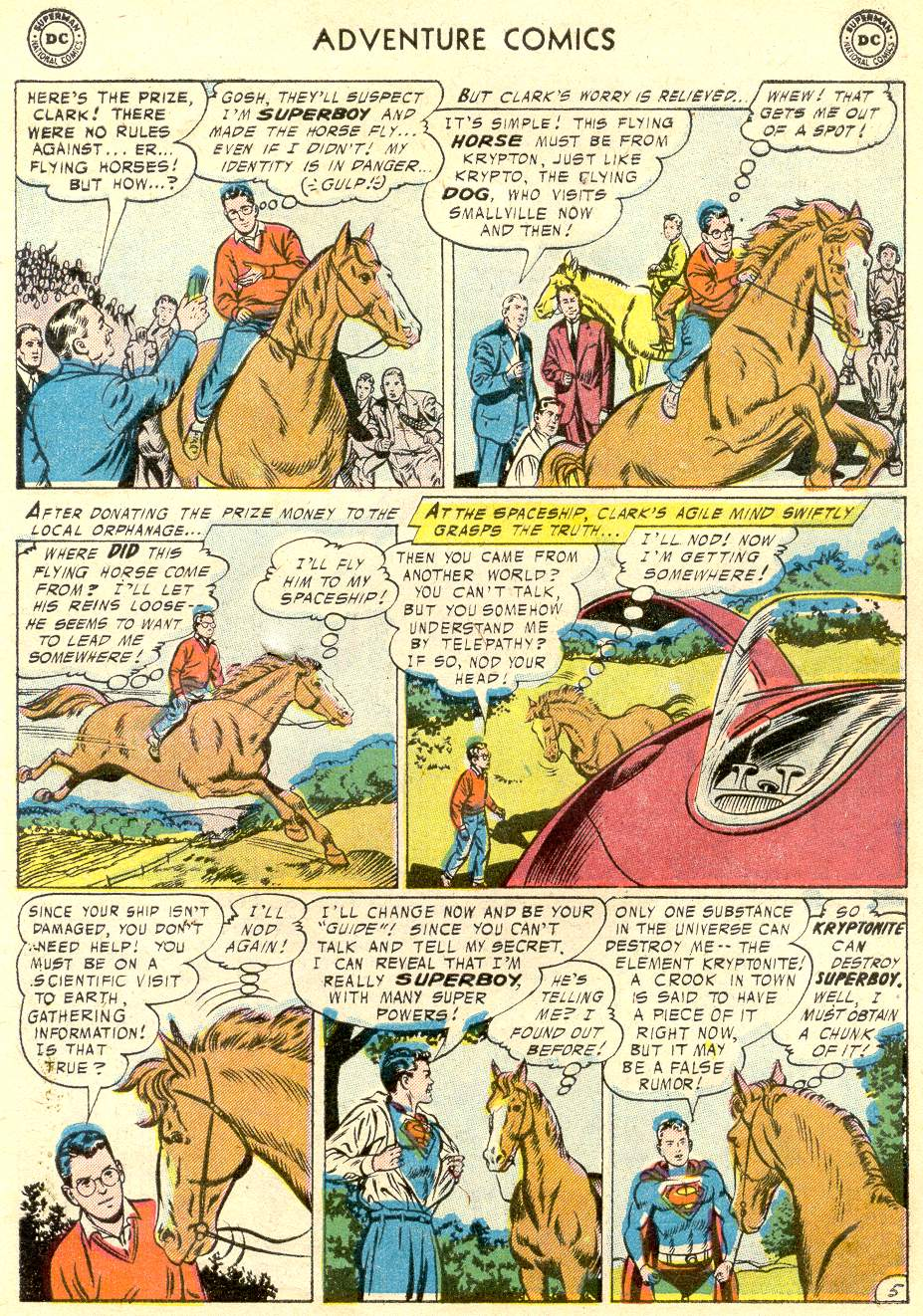 Read online Adventure Comics (1938) comic -  Issue #230 - 7