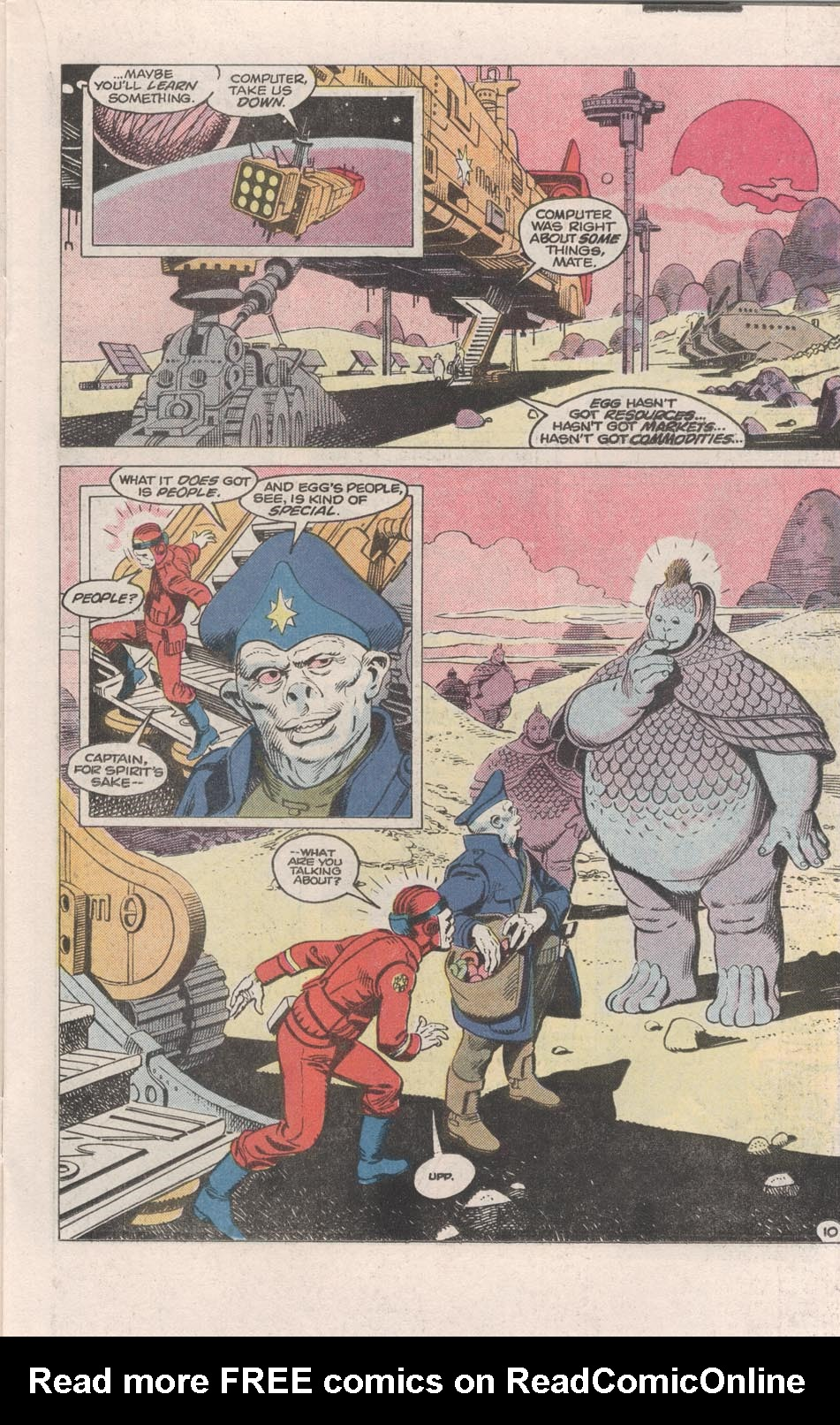 Read online Atari Force (1984) comic -  Issue #1 - 11