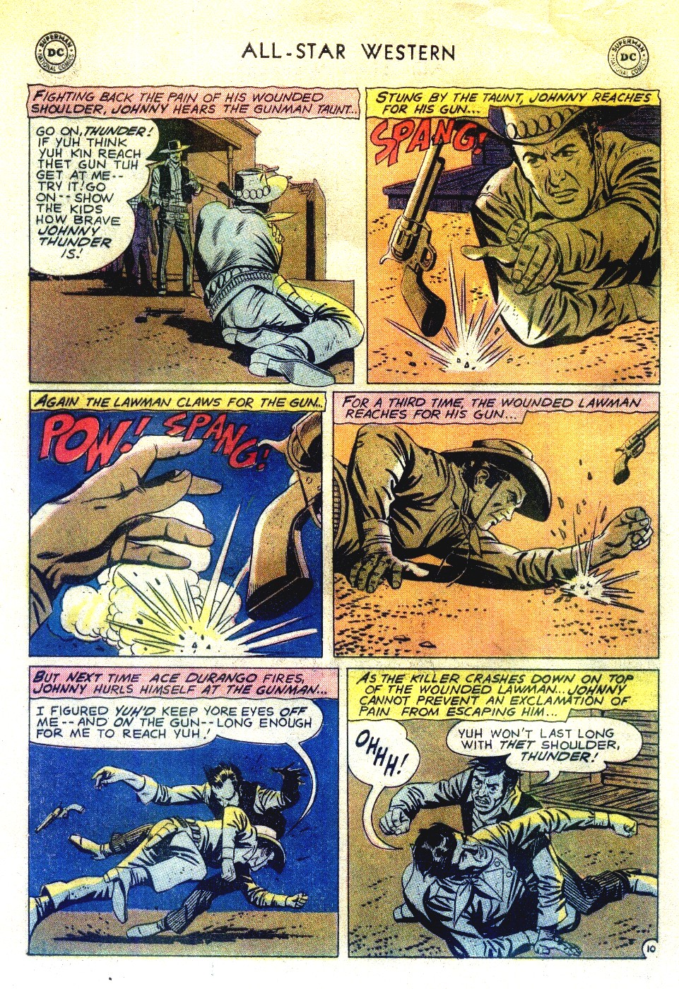 Read online All-Star Western (1951) comic -  Issue #111 - 12