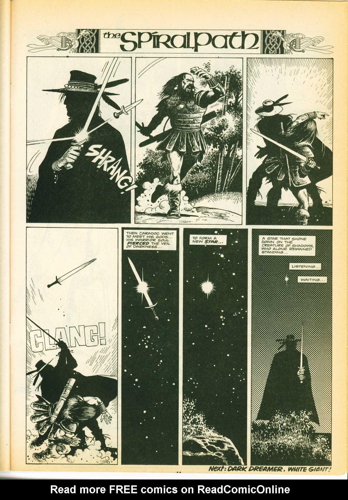 Warrior Issue #10 #11 - English 40