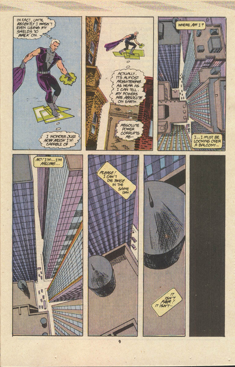 Read online Justice (1986) comic -  Issue #17 - 10