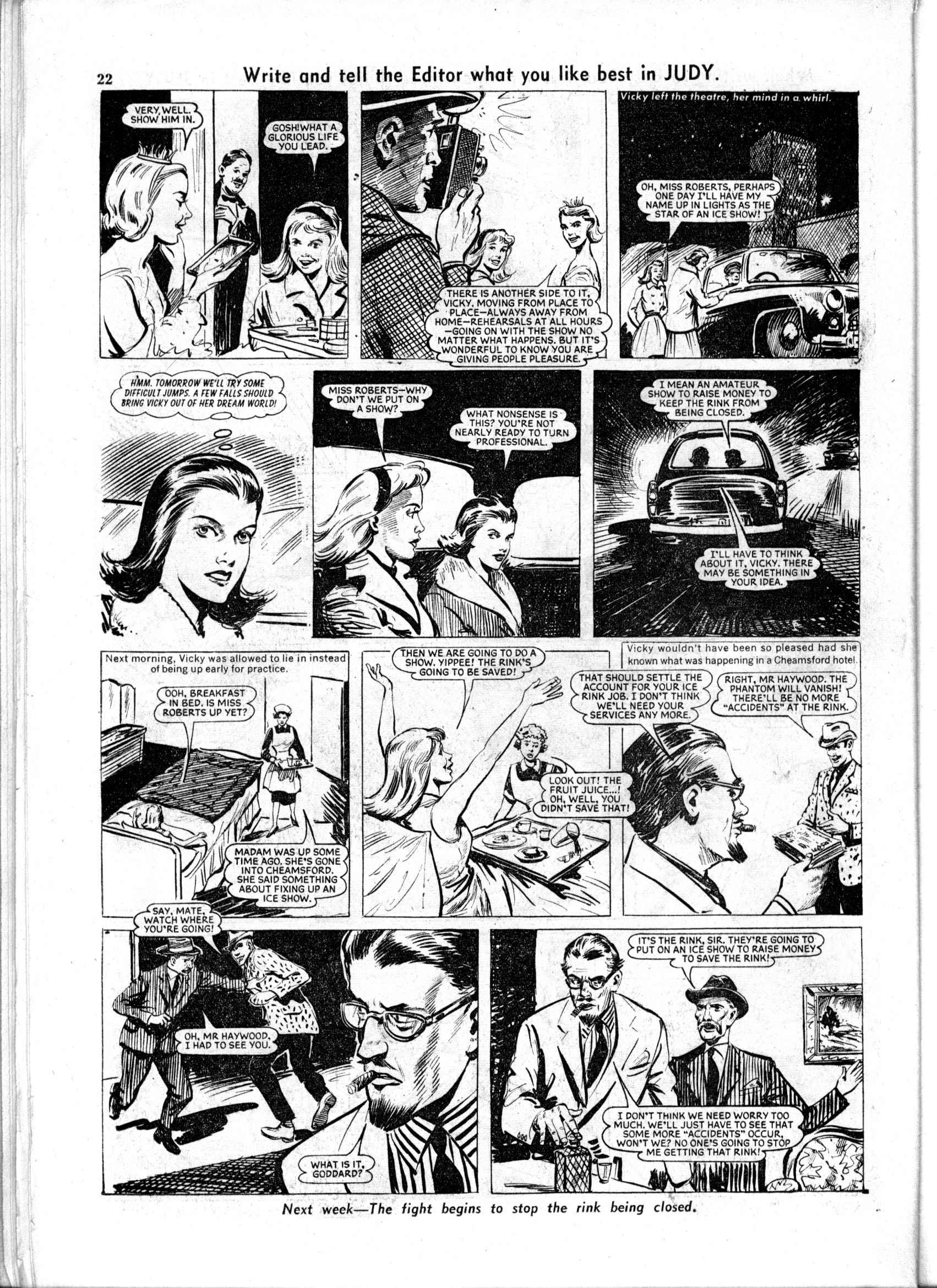 Read online Judy comic -  Issue #158 - 22